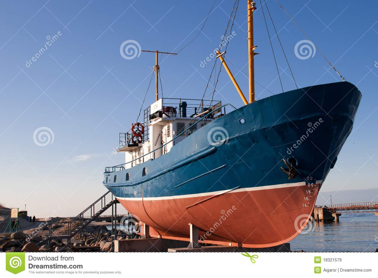 Old fishing boat royalty free stock images image 18321579 for Old fishing boat