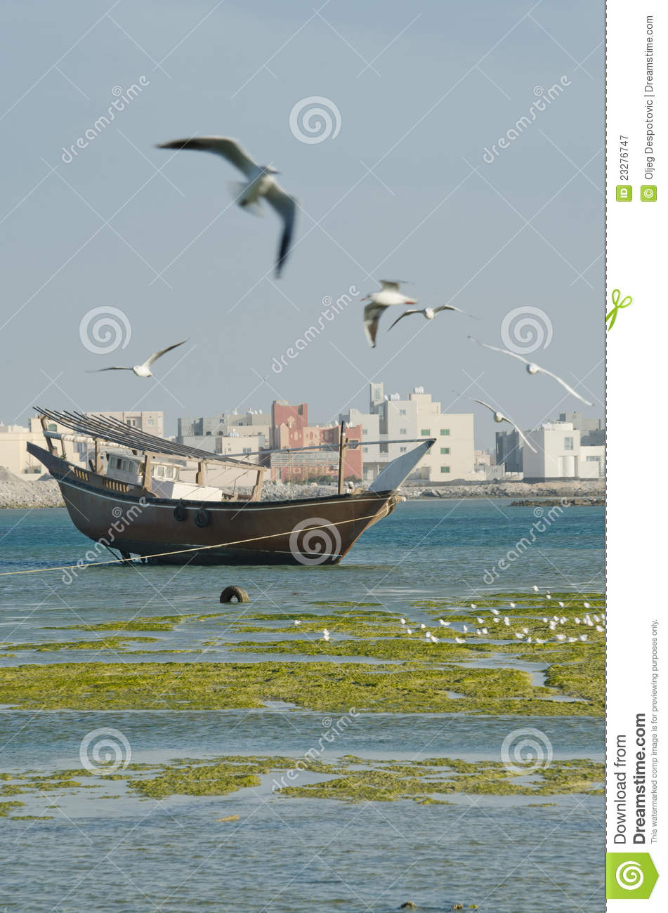 Man in fishing boat royalty free stock images image for Old fishing boat