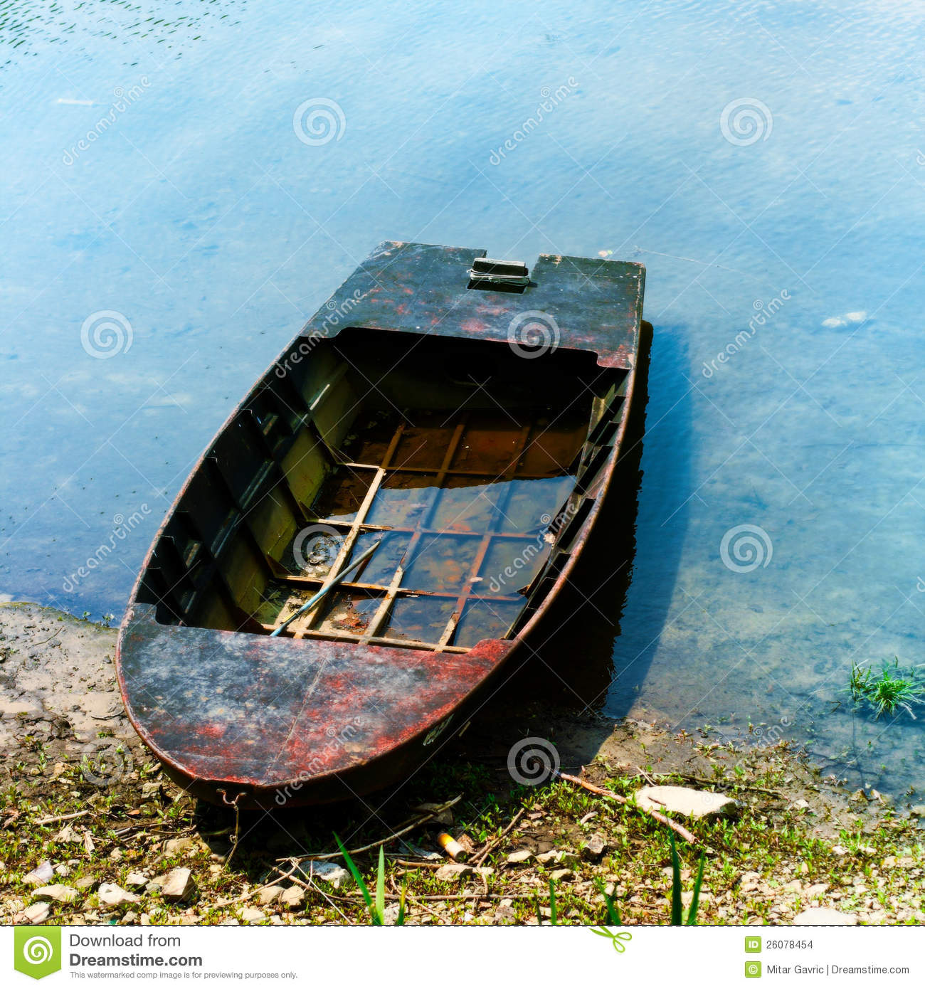Old fishing boat stock photo image of boat ruin for What to do with an old boat