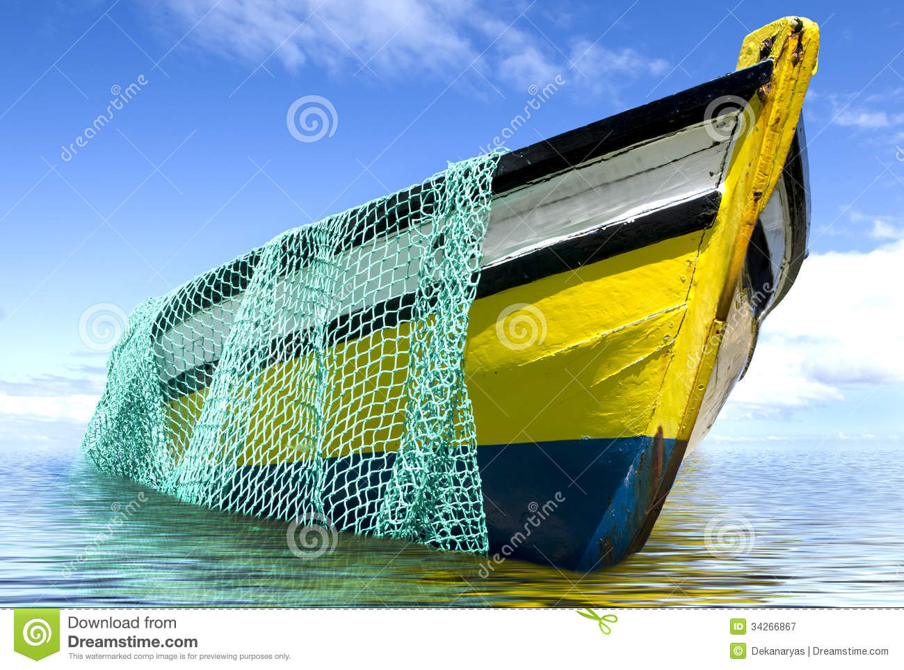 The Old Fishing Boat Royalty Free Stock Photography - Image: 34266867