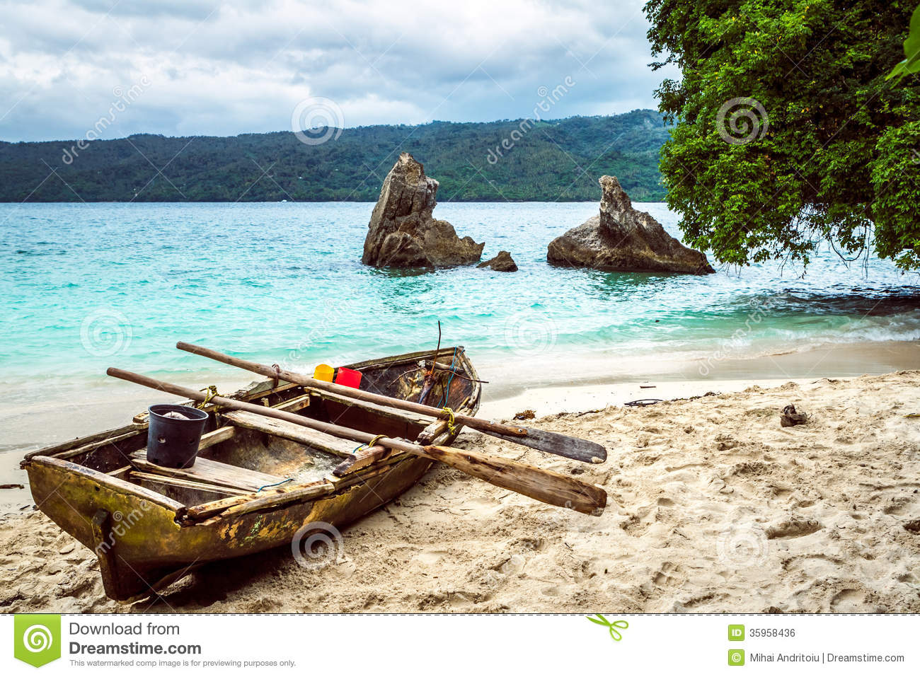 Old fishing boat pulled on the beach stock photo image for Long beach fishing boat