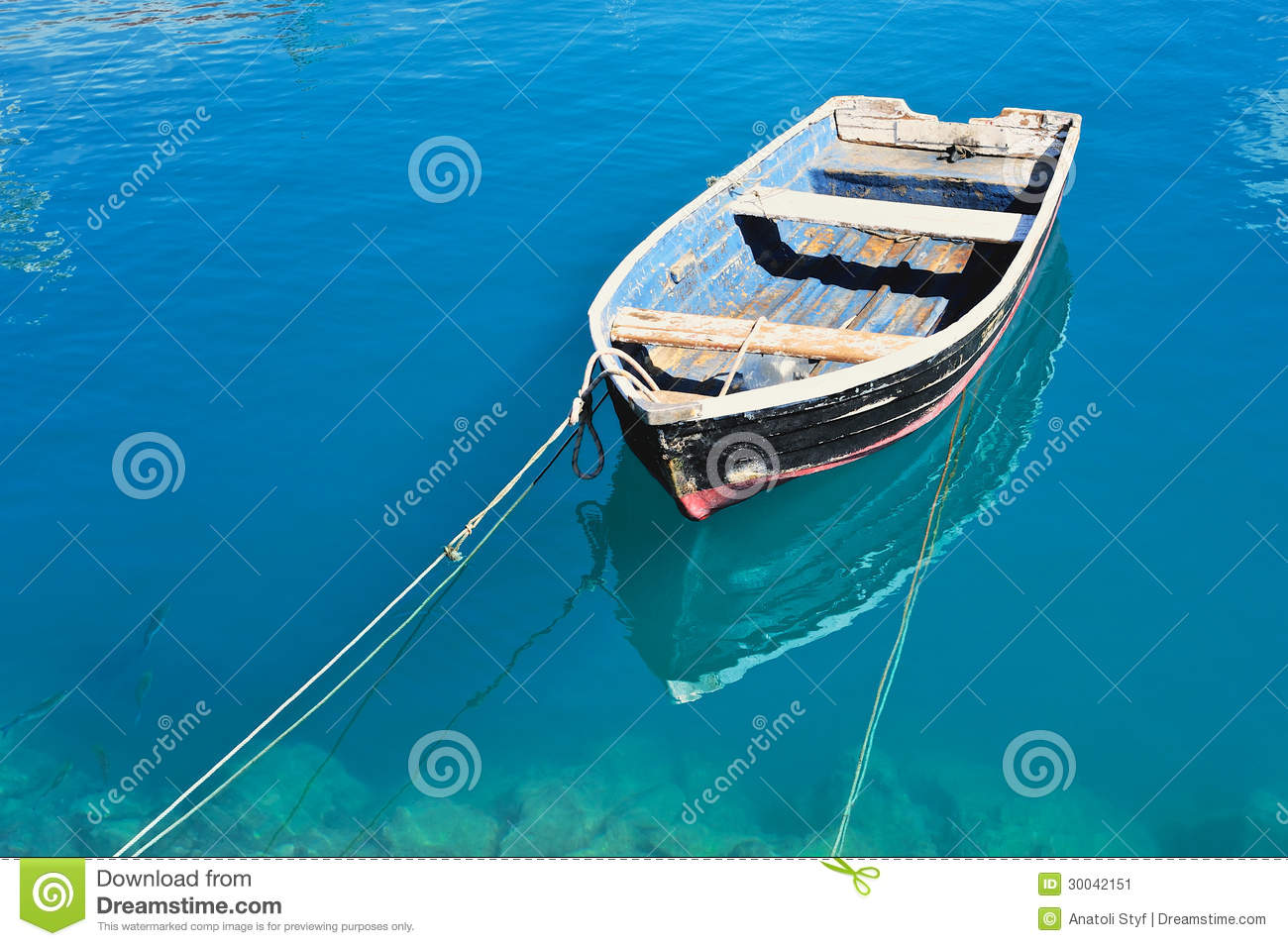 Old boat stock image image of lonely lagoon marine for Old fishing boat