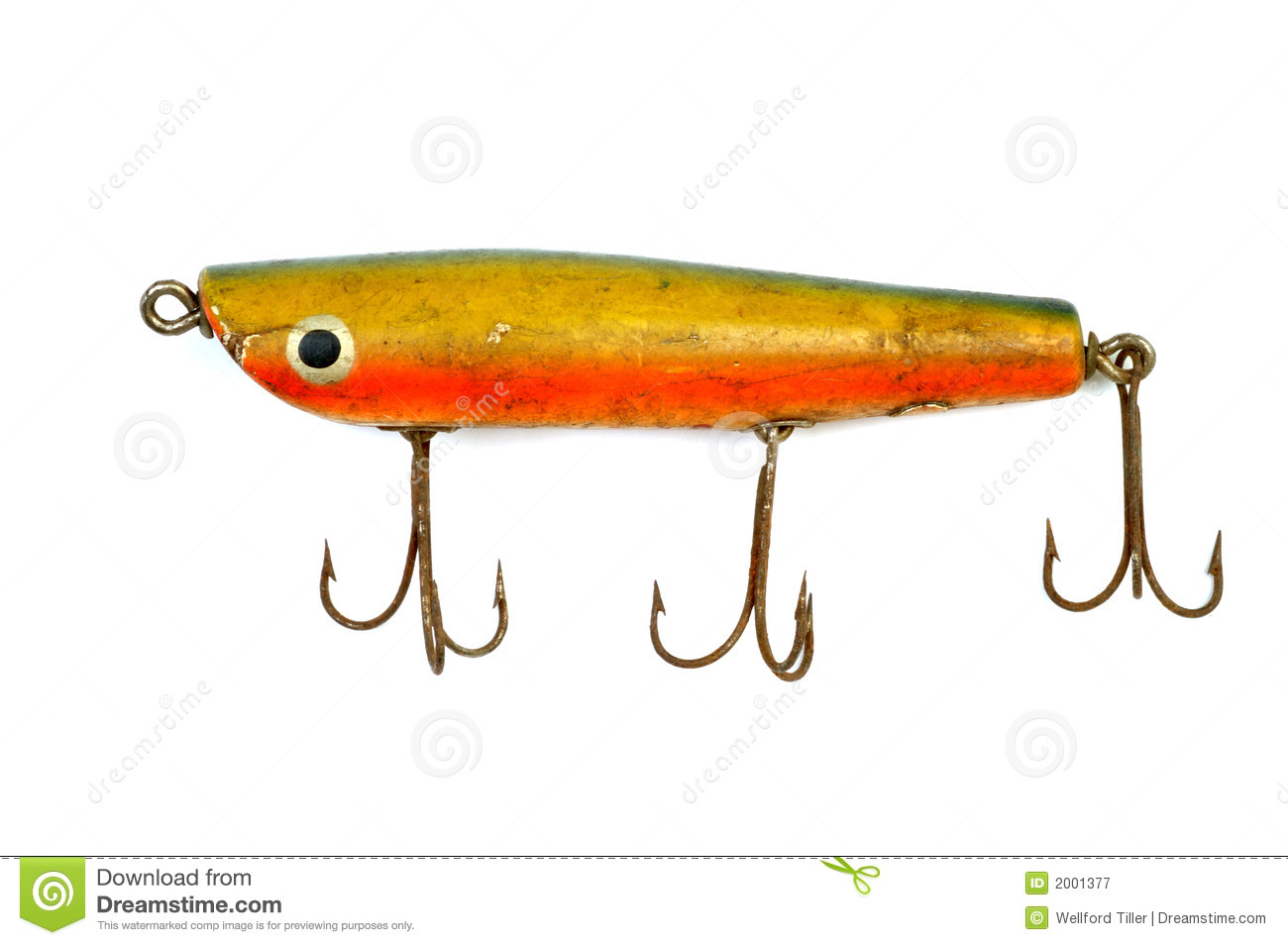 Old Fishing Lure 4 Royalty Free Stock Photography - Image: 2001377