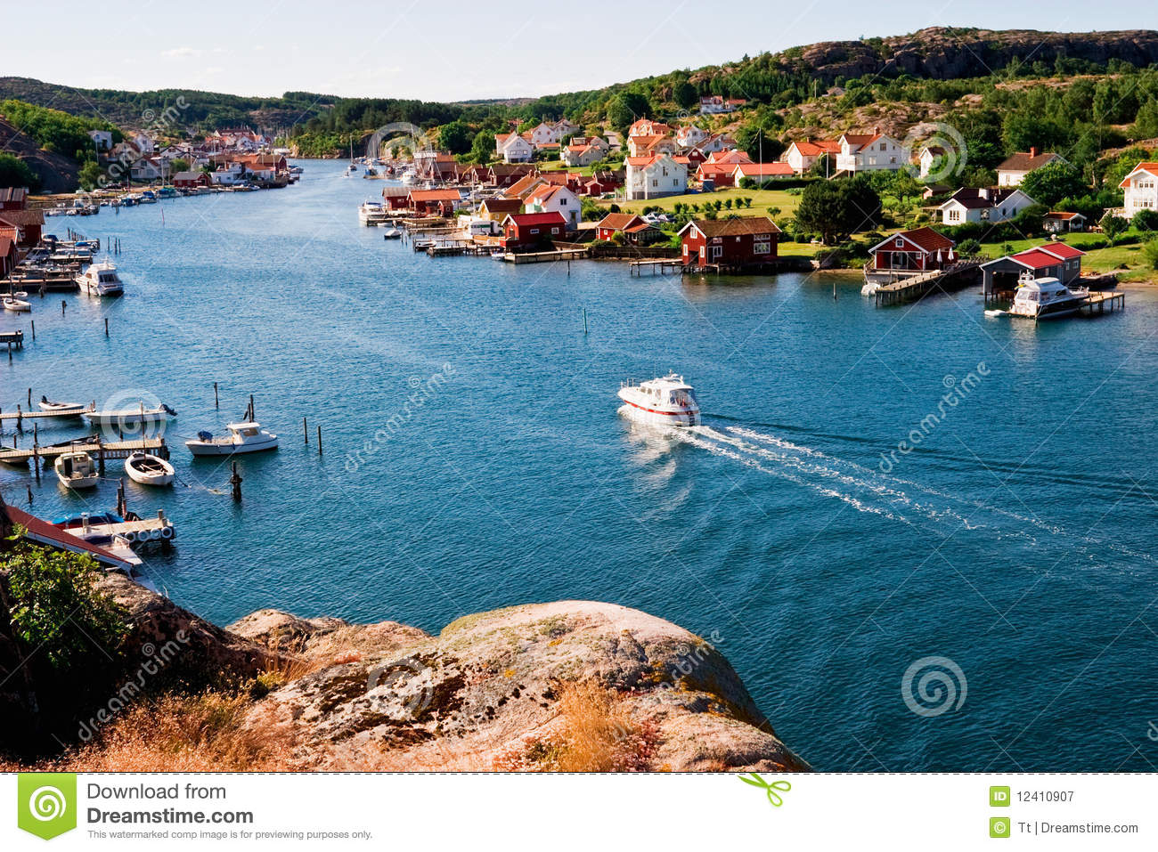 Royalty Free Stock Photography: Old fishing village: bfz.biz/tag/old-fishing-villages