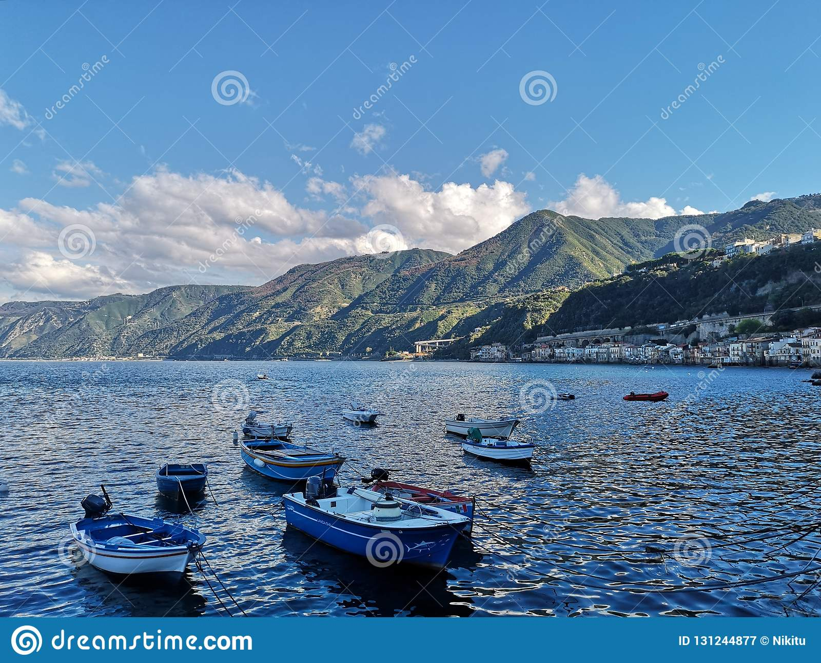 Old fishing village of Scilla