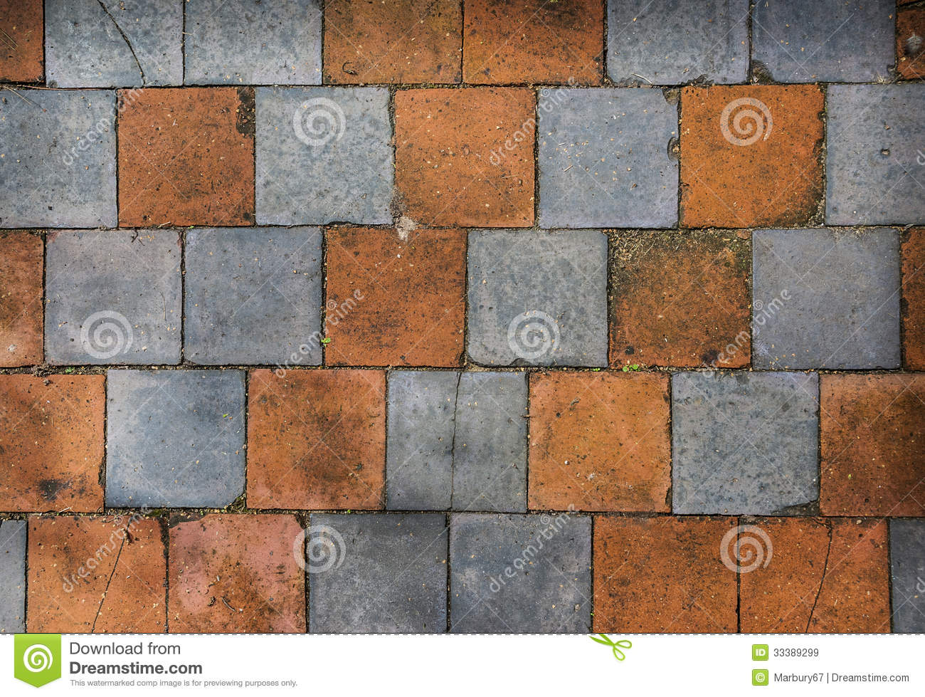 Old Floor Tiles Stock Image Image Of Terracotta Cracks