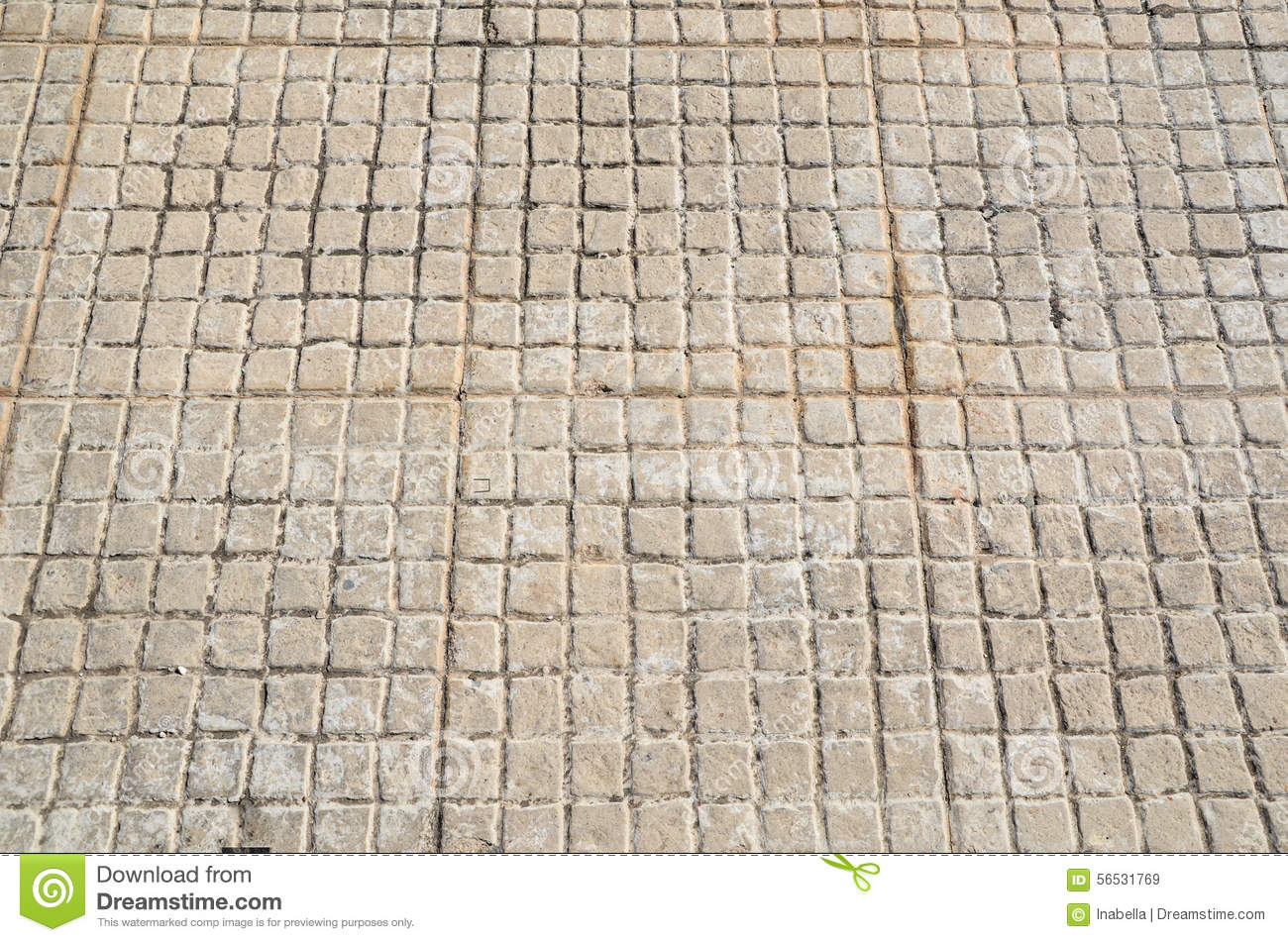 Old floor tiles small beige stone stock image image 56531769 old floor tiles small beige stone dailygadgetfo Images