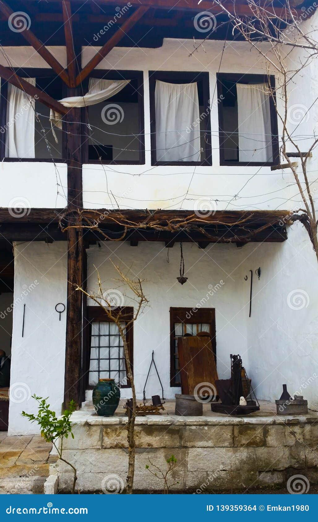 An old folk house