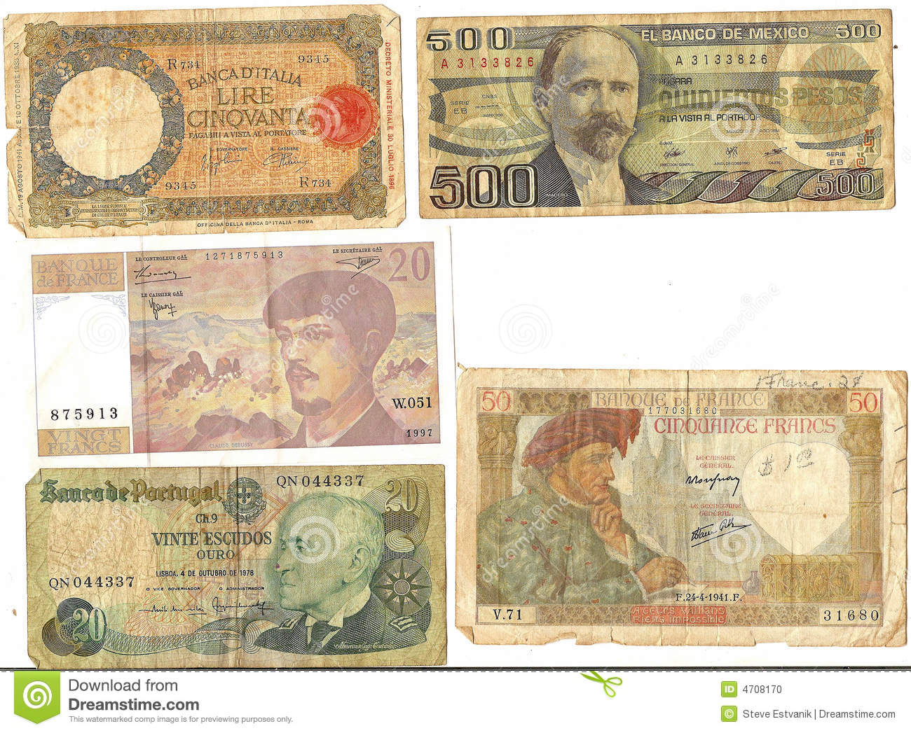 Old Foreign Currency 62