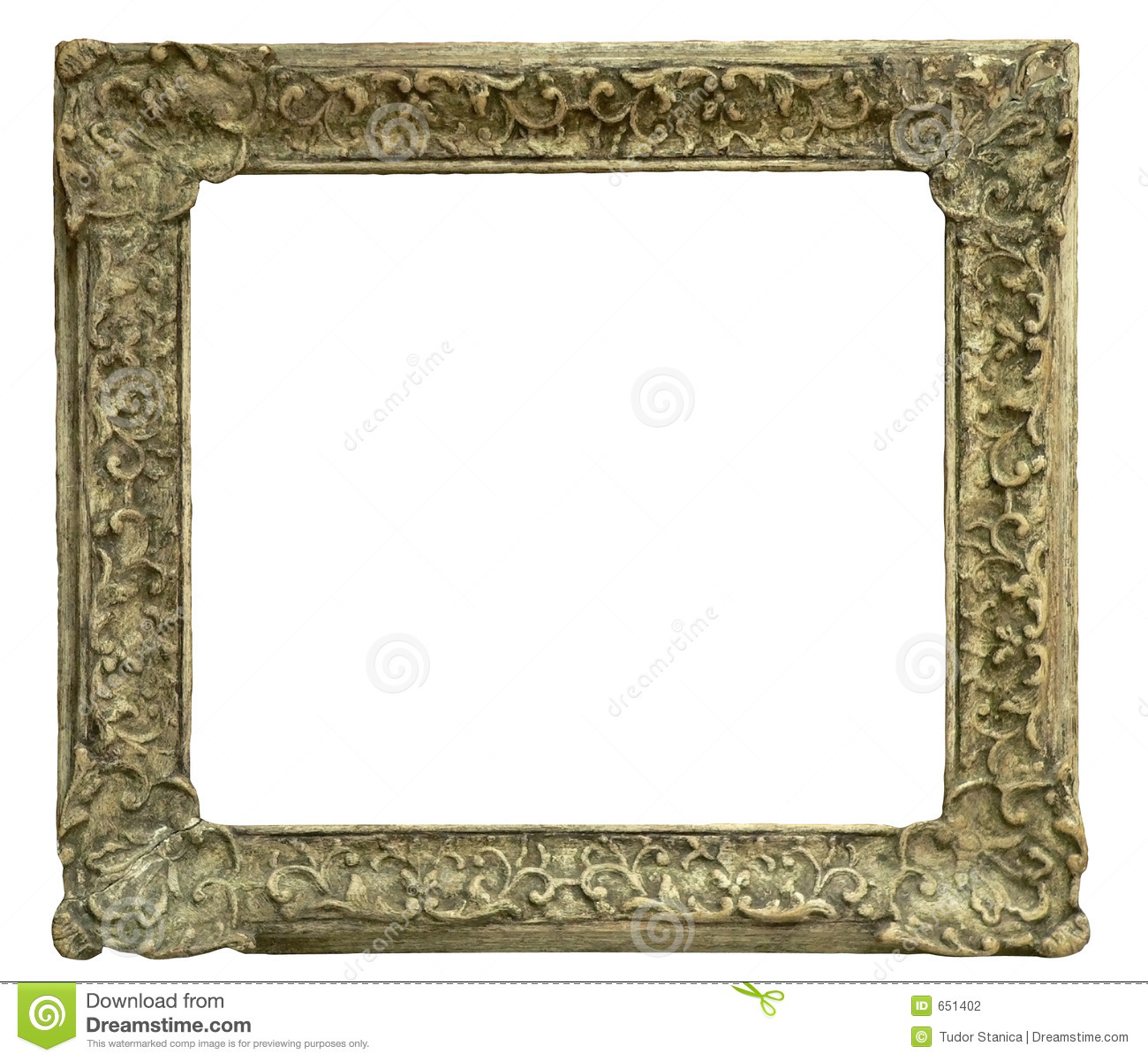 Old Frame Stock Photography Image 651402