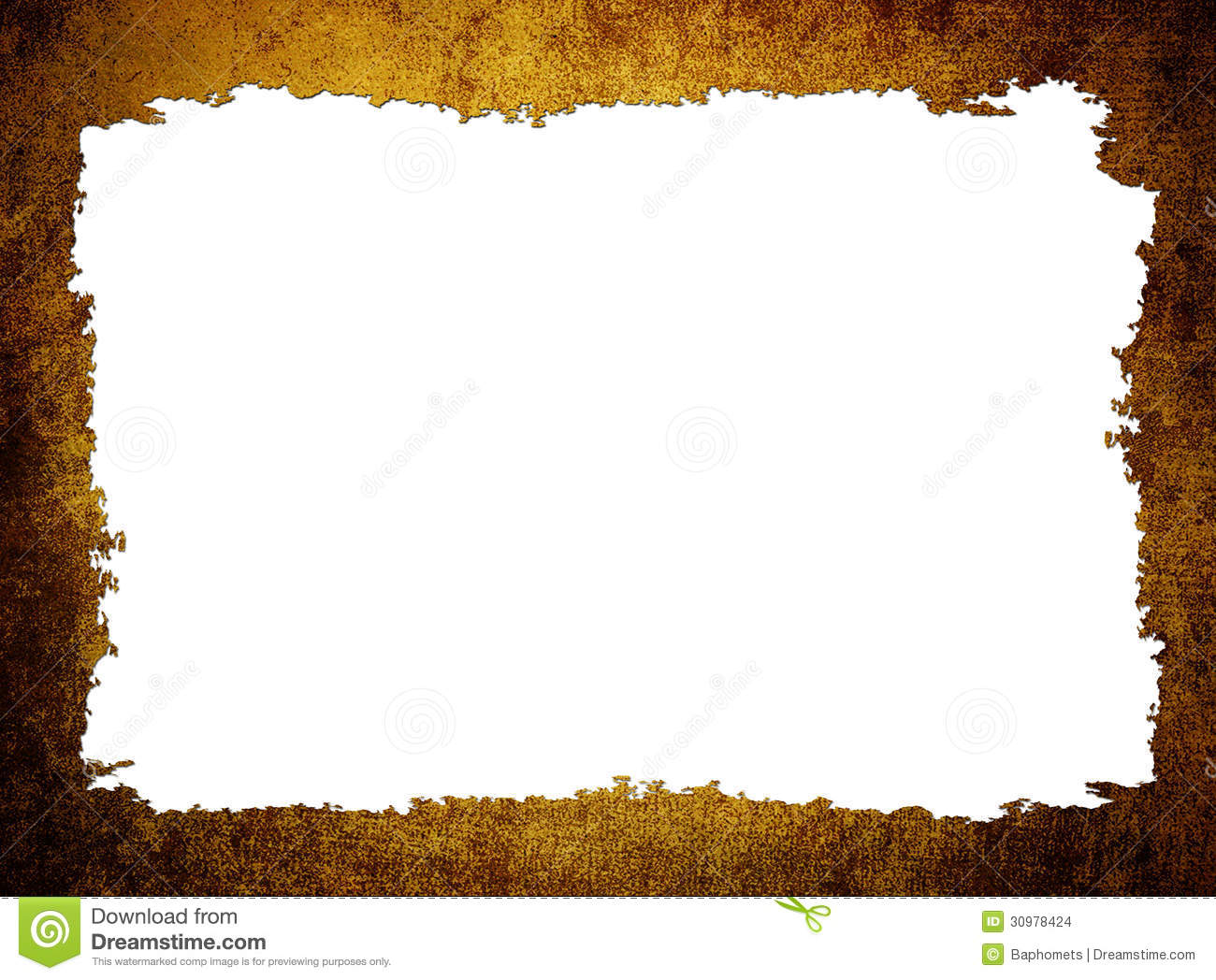 Old Frame Paper Texture, Background With Space For Text Stock Images ...
