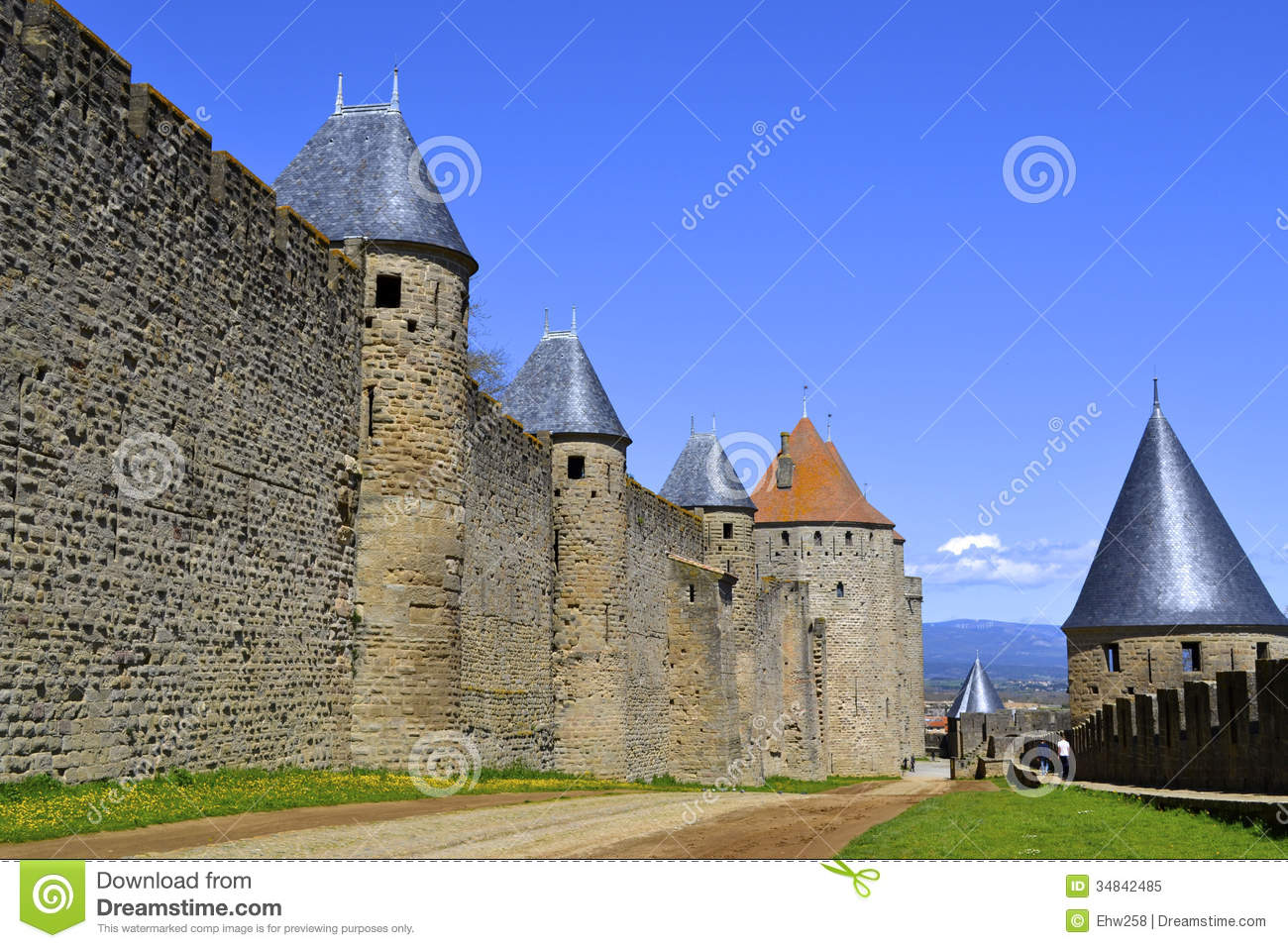 old french castle royalty free stock photo   image 34842485