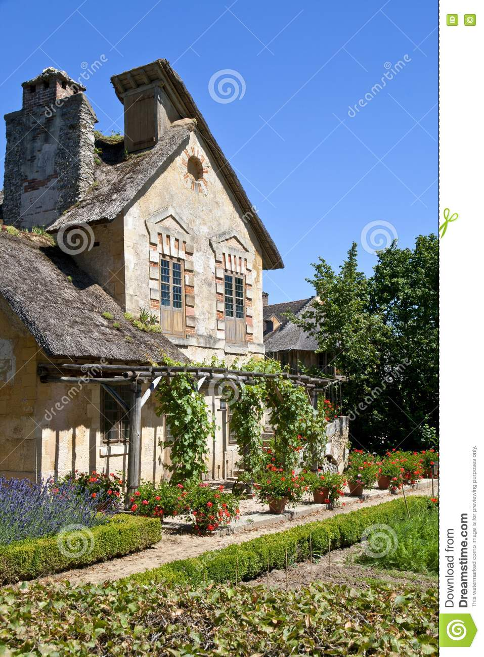 Old French House Stock Image Image Of Heritage Tourism