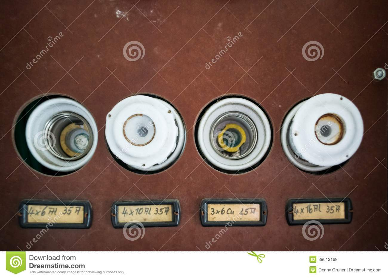 old fuse box royalty stock photos image 38013168 old fuse box
