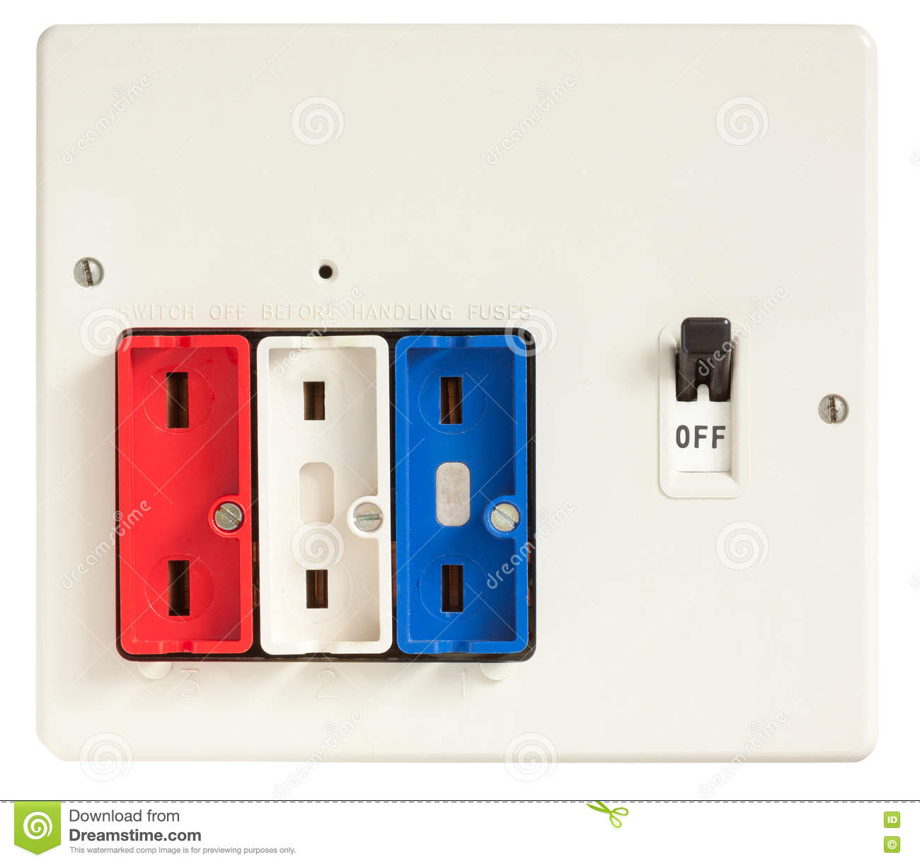 Old Fuse Box Stock Image Of Breaker Board Home 73974413