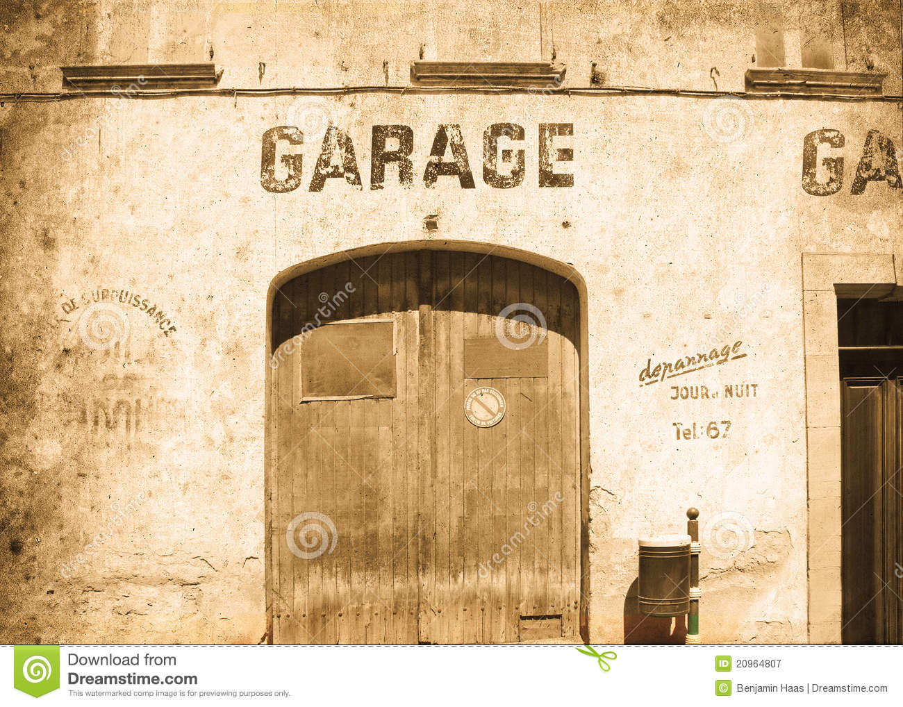 Garage House Plans >> Old Garage stock image. Image of copyspace, house, texture - 20964807
