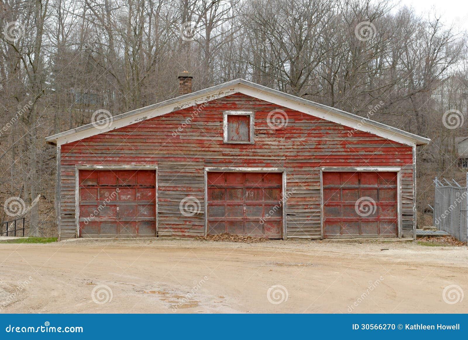 Old Garage Stock Photo Image 30566270