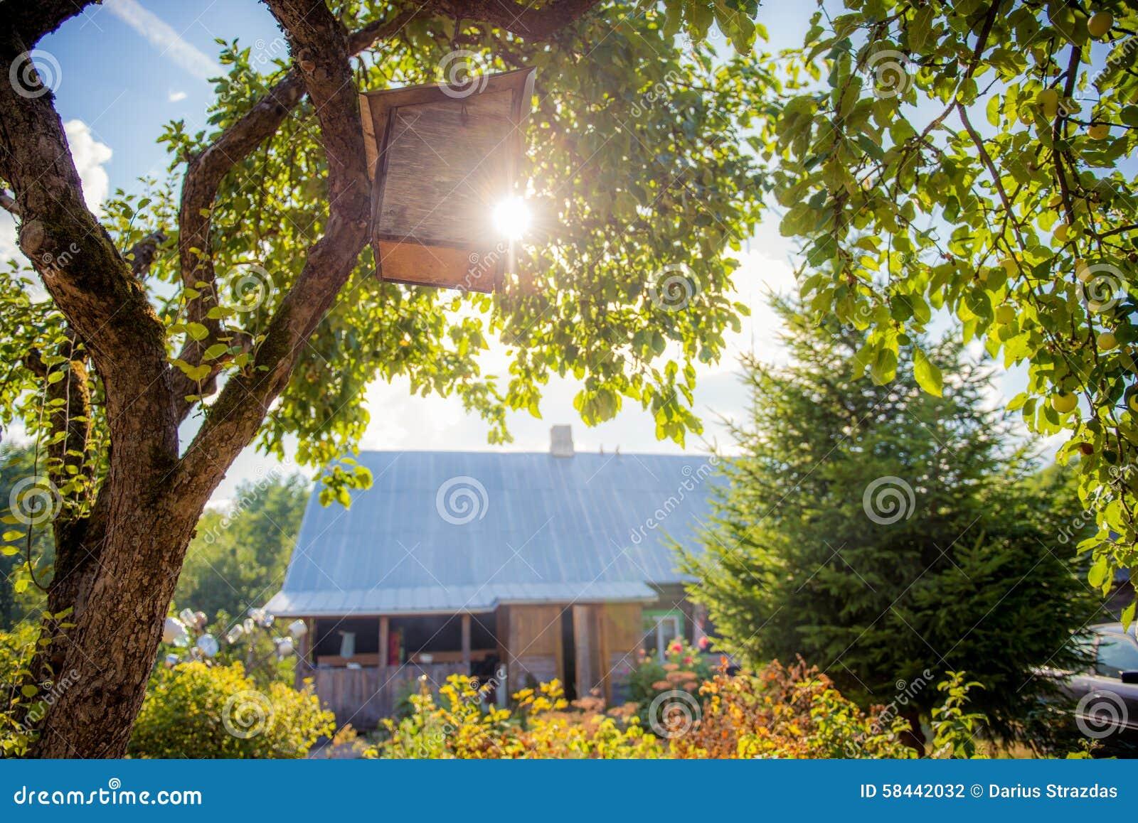 Old garden house - Old Garden House Stock Photo