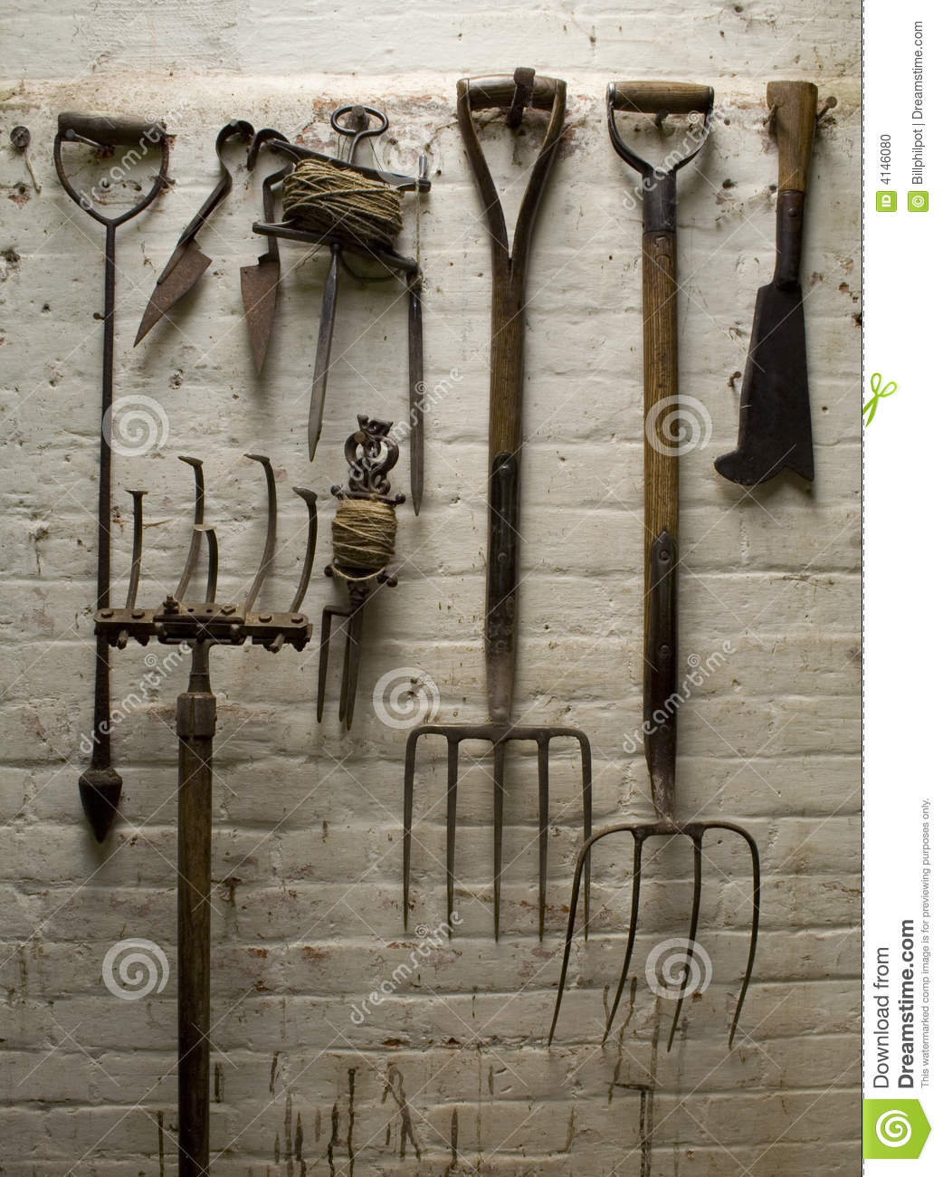 Royalty Free Stock Photo. Download Old Garden Tools ...