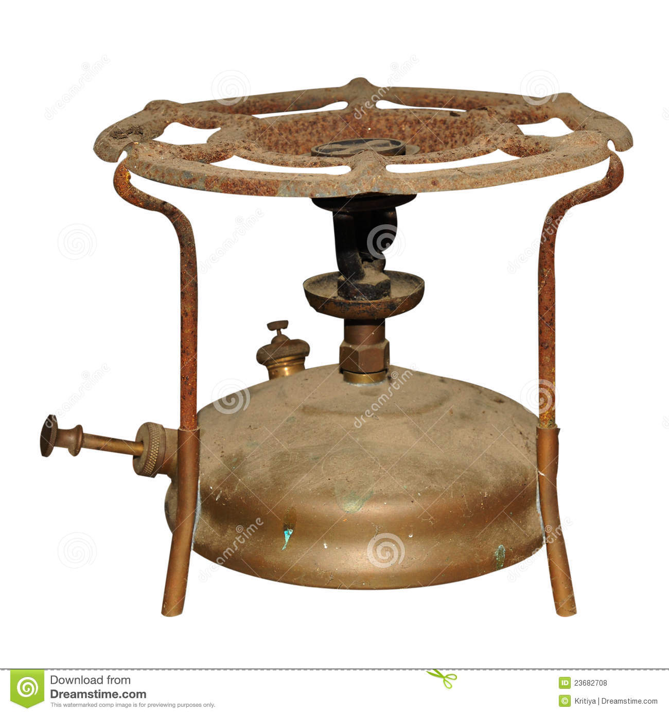Old Gas Stove Stock Photo Image Of Antique Rust Metal