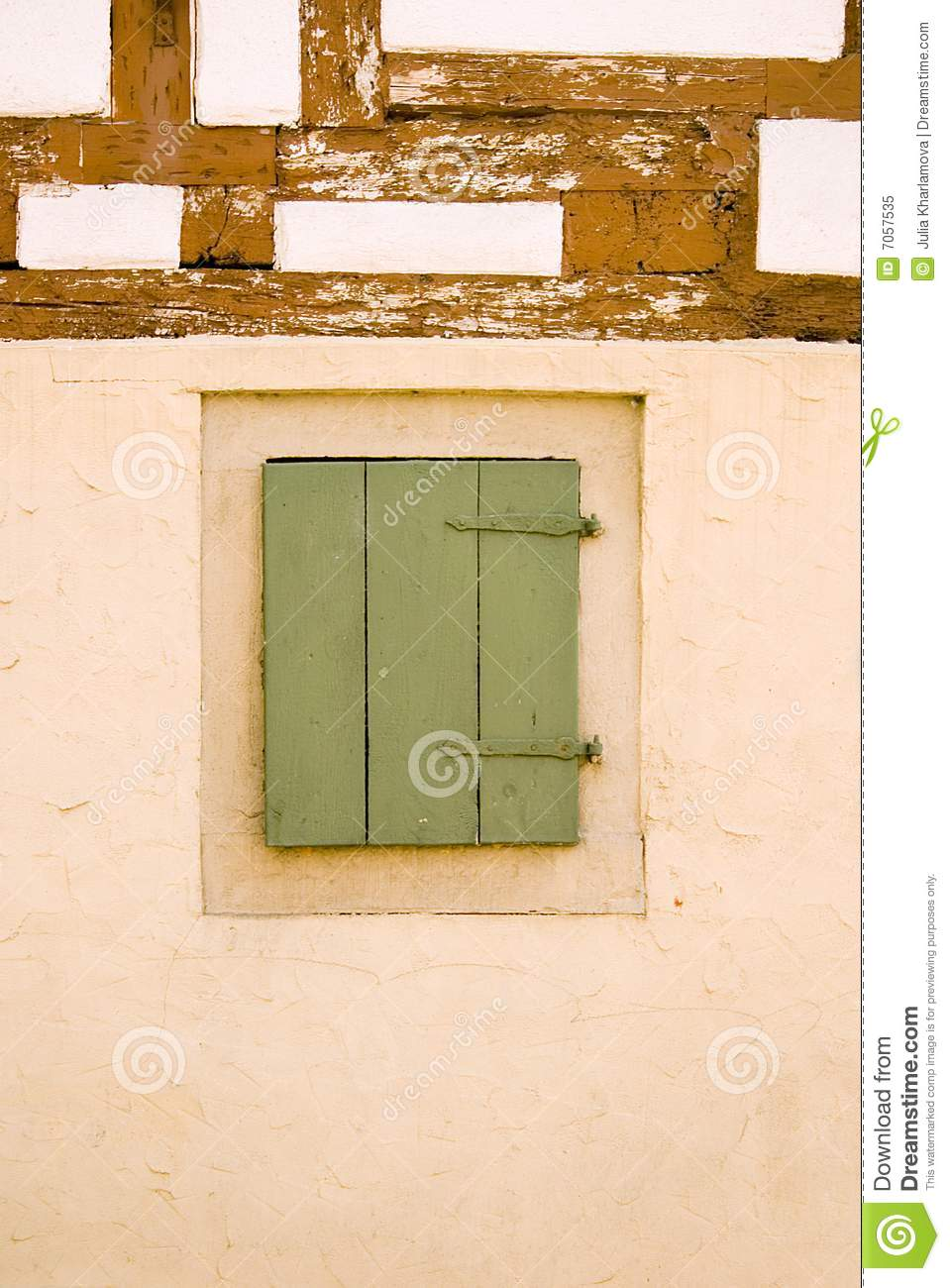 Old german house wall with window royalty free stock photo for Window in german