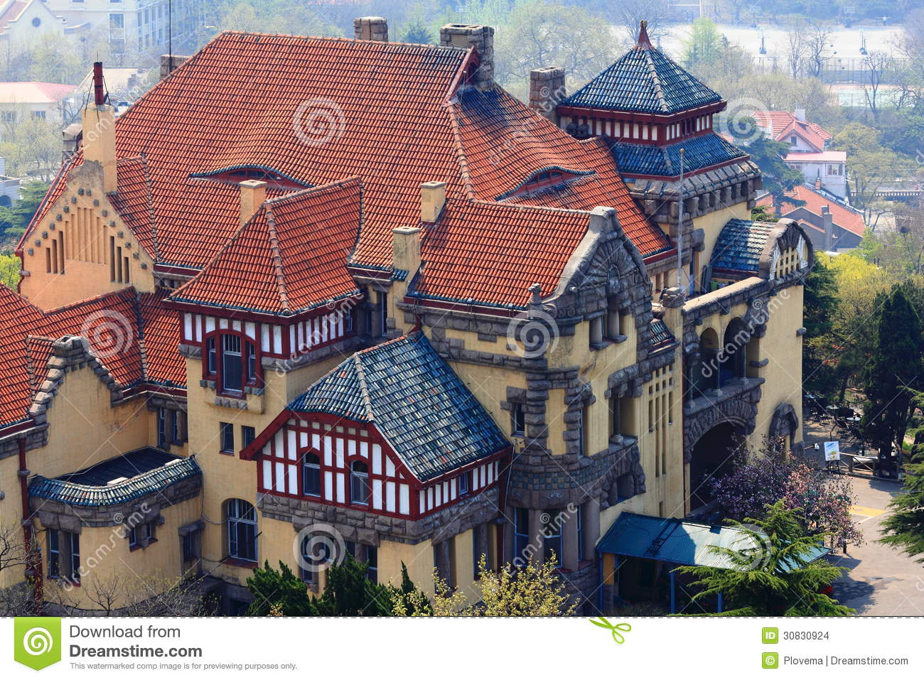 old german style architecture stock images - image: 30830924