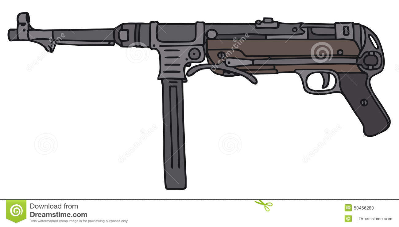 Tommy Gun Gangster Drawings Old germany   1300 x 741