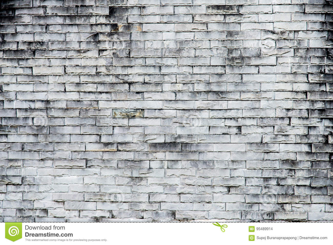 Old gray brick wall texture background.Rough brick wall.Backgro
