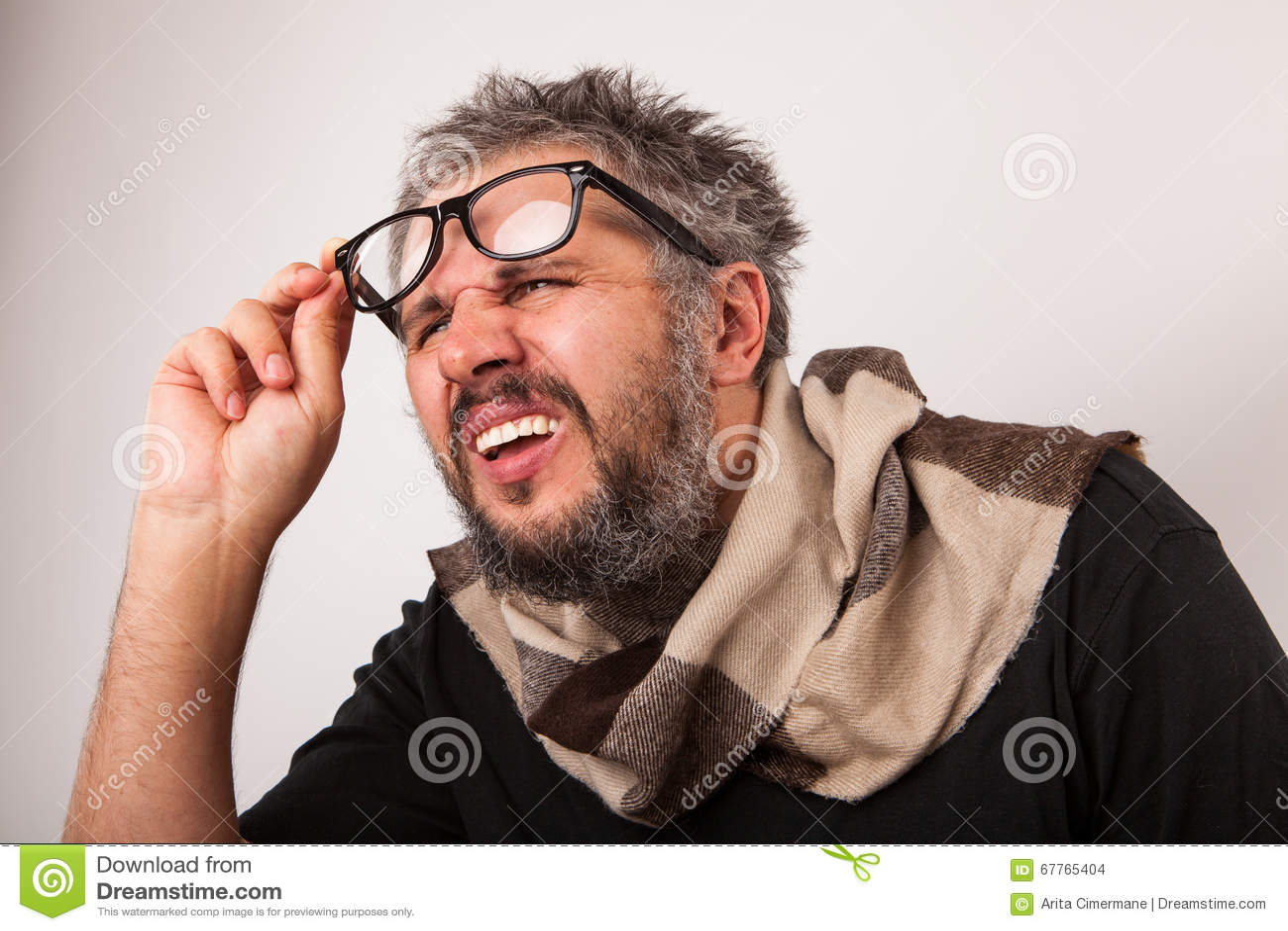 Crazy Person Glasses