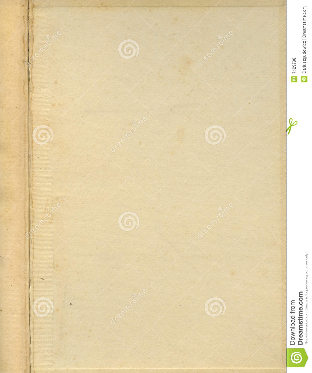 Book Cover Texture Ds Max : Old grunge book cover inside page stock photo image