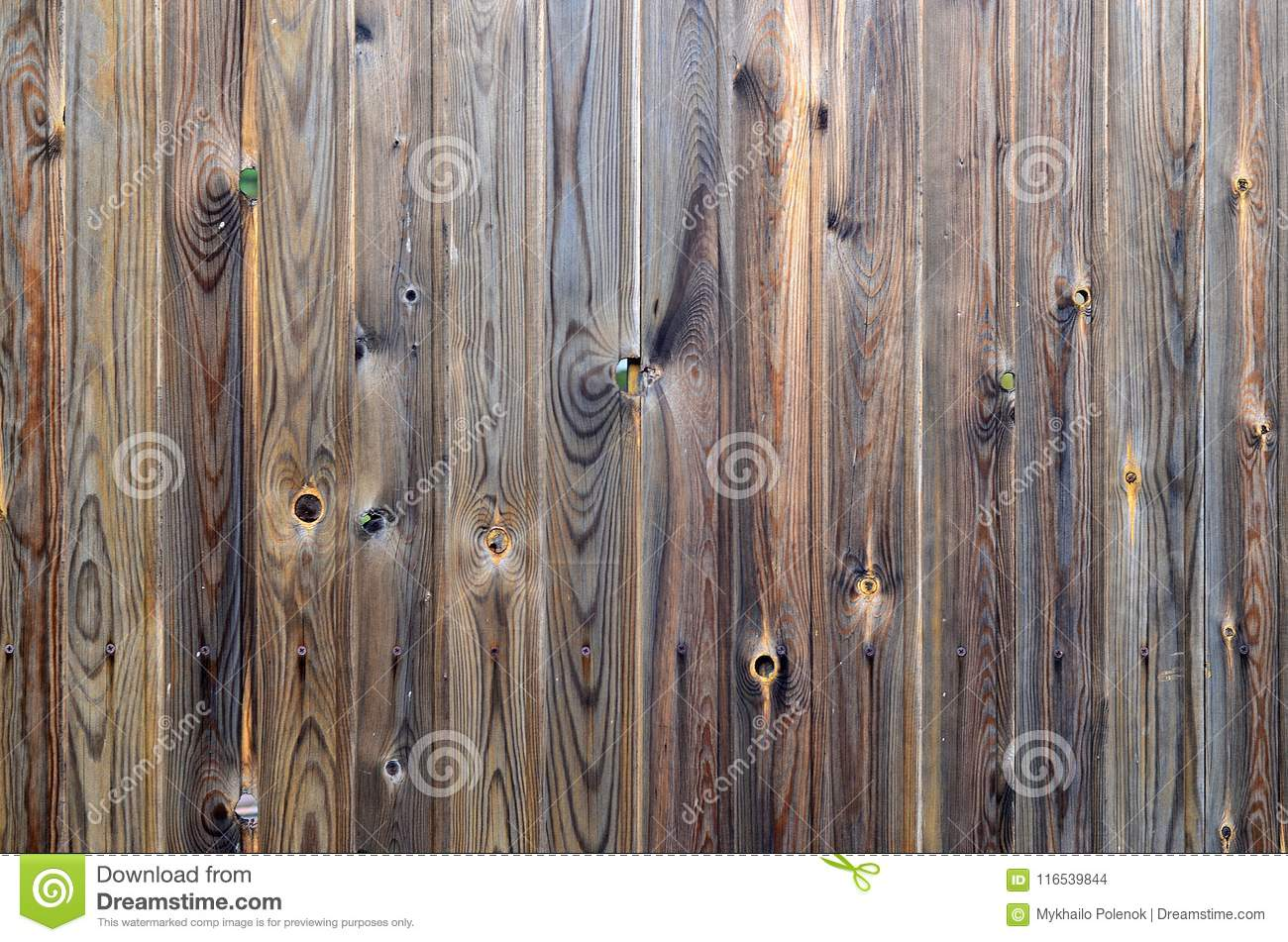 Old grunge dark brown wood panel pattern with beautiful abstract grain surface texture, vertical striped background or backdrop i