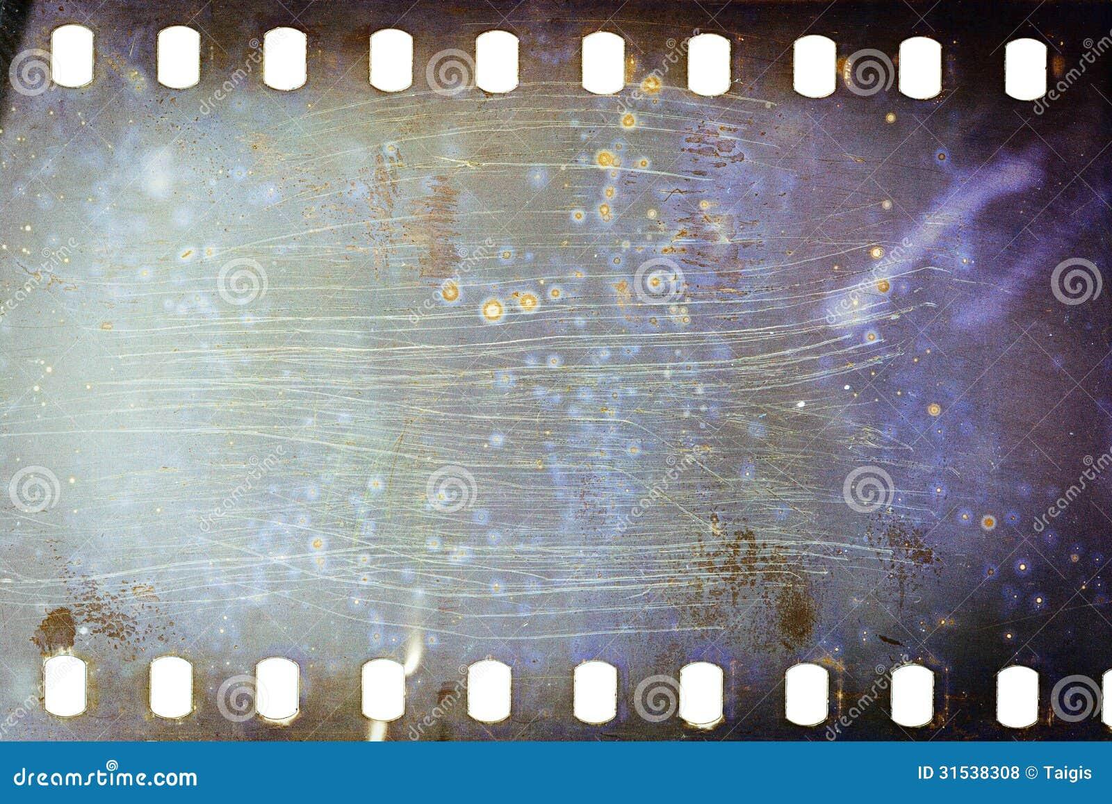Old Film Reel Texture Old Grunge Filmstrip R...