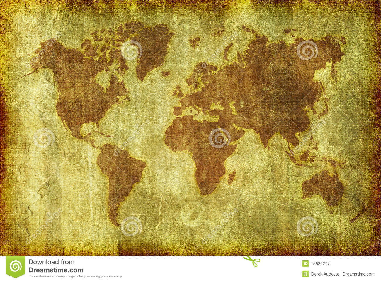 Old grunge map of the world background stock illustration old grunge map of the world background royalty free stock photo gumiabroncs Gallery