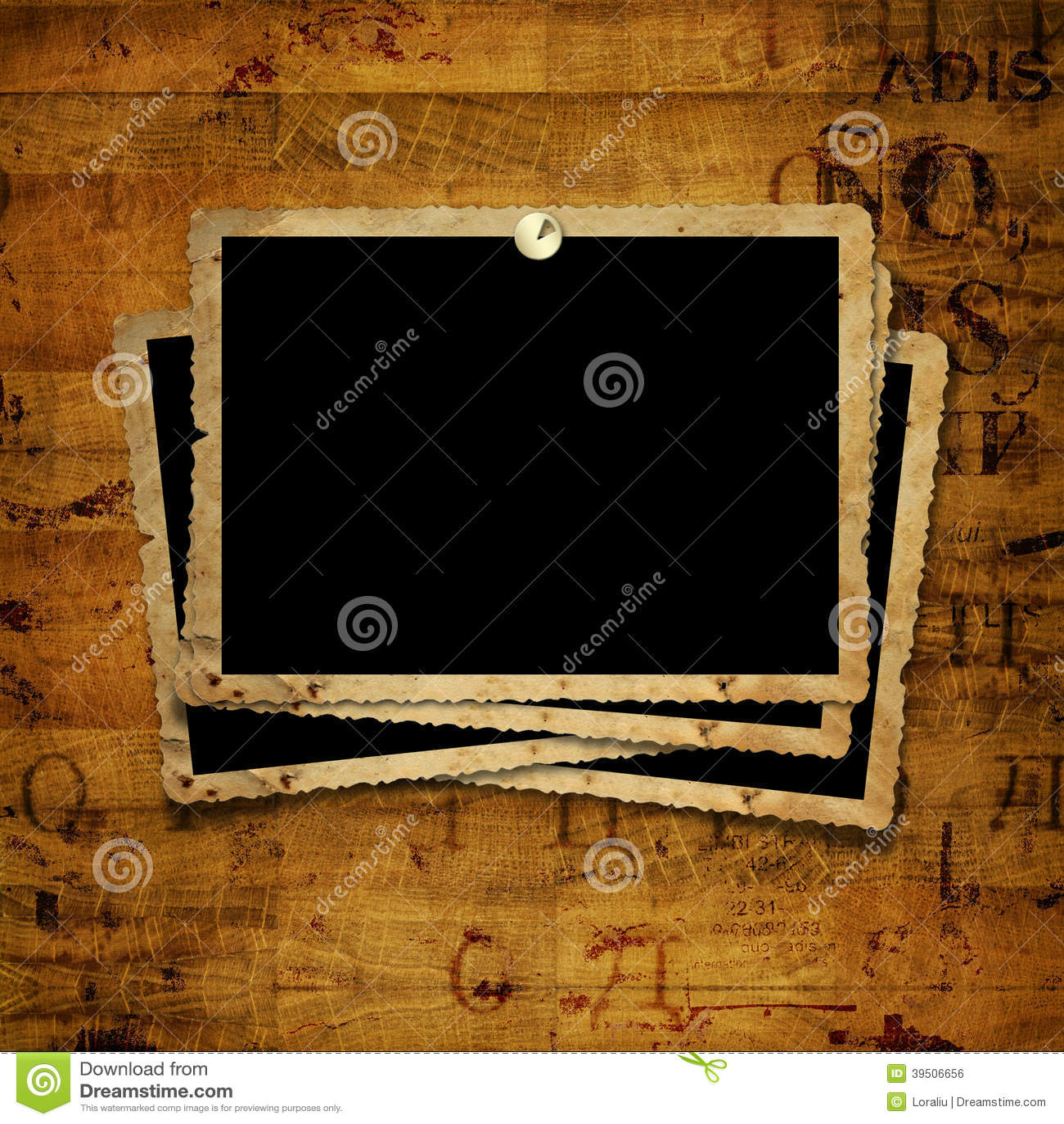 Old grunge paper frames