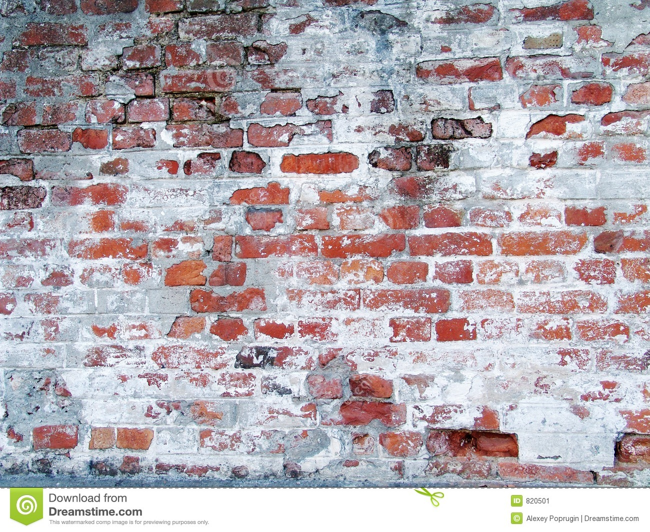 Old grungy brick wall