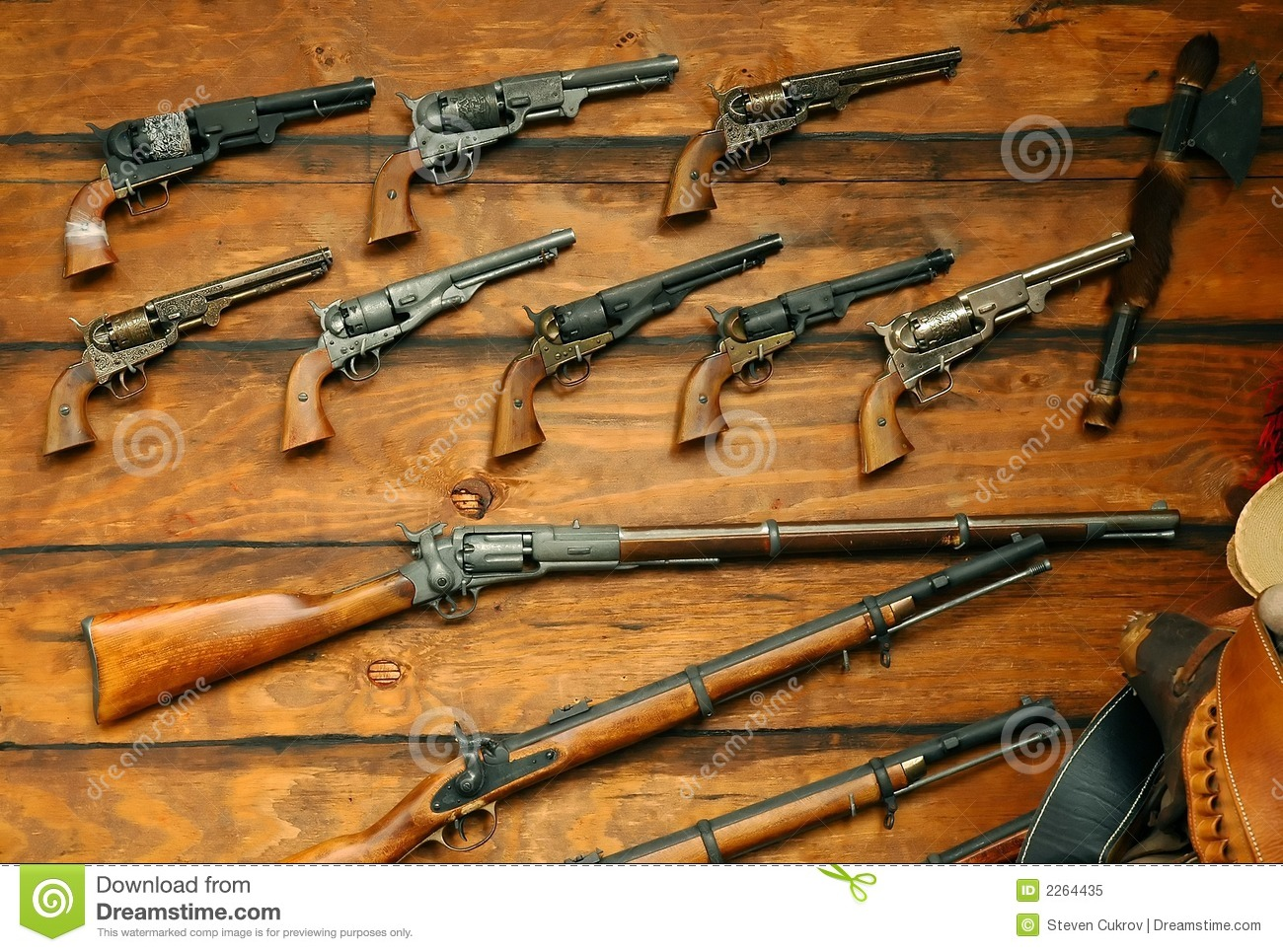 Old Guns Royalty Free Stock Photo - Image: 2264435