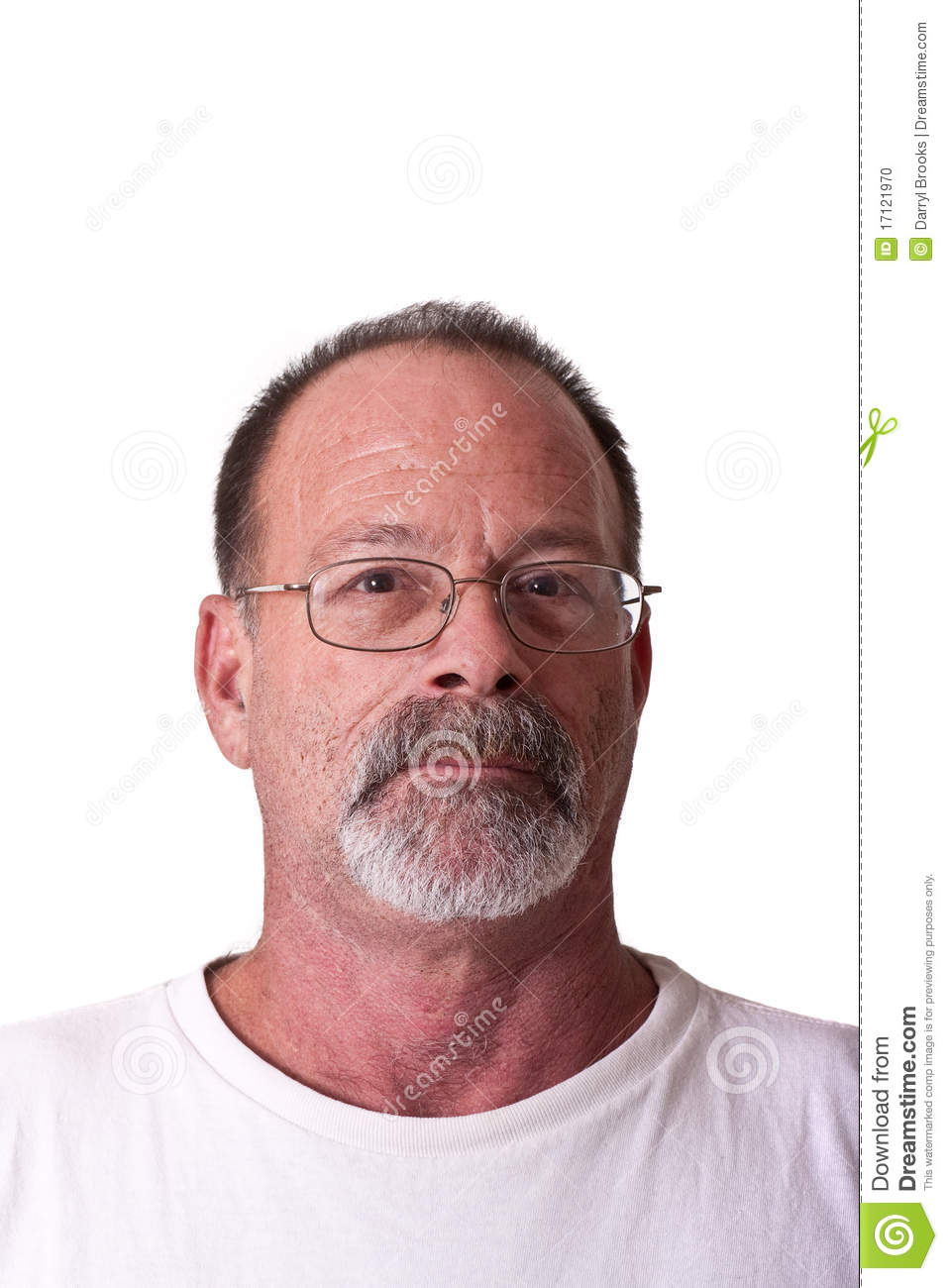 Old guy with glasses