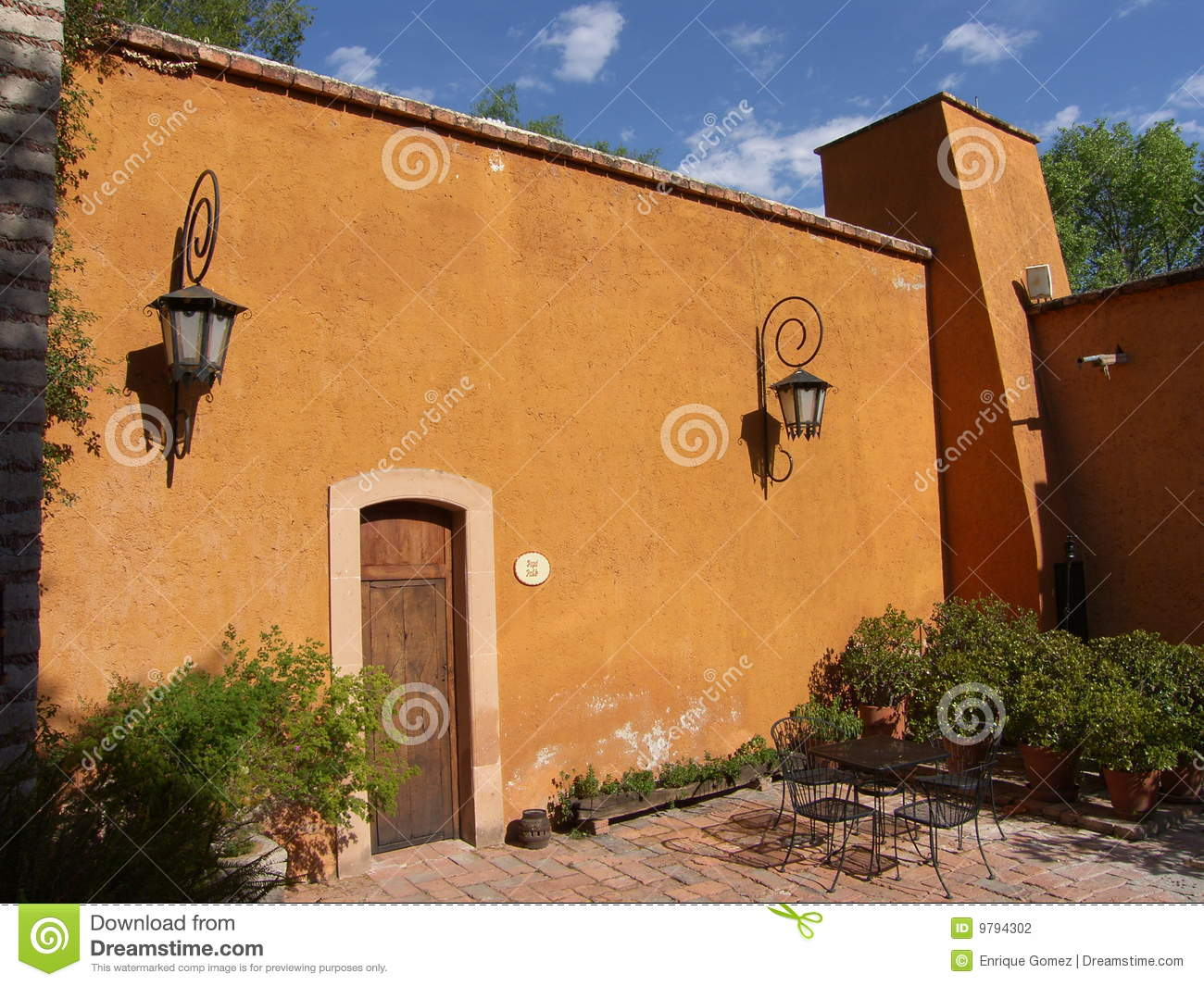 Old Hacienda Stock Photography Image 9794302