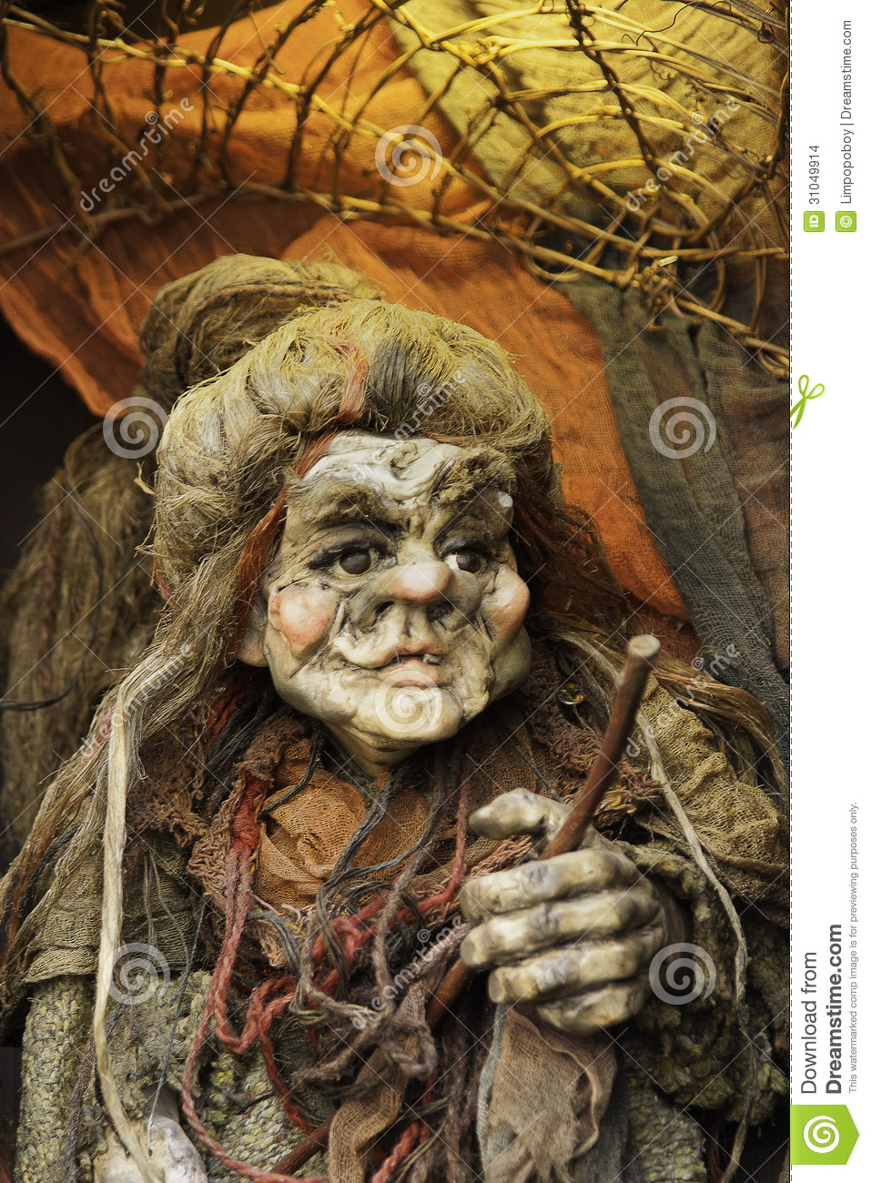 Old Hag Witch Stock Images - Image: 31049914