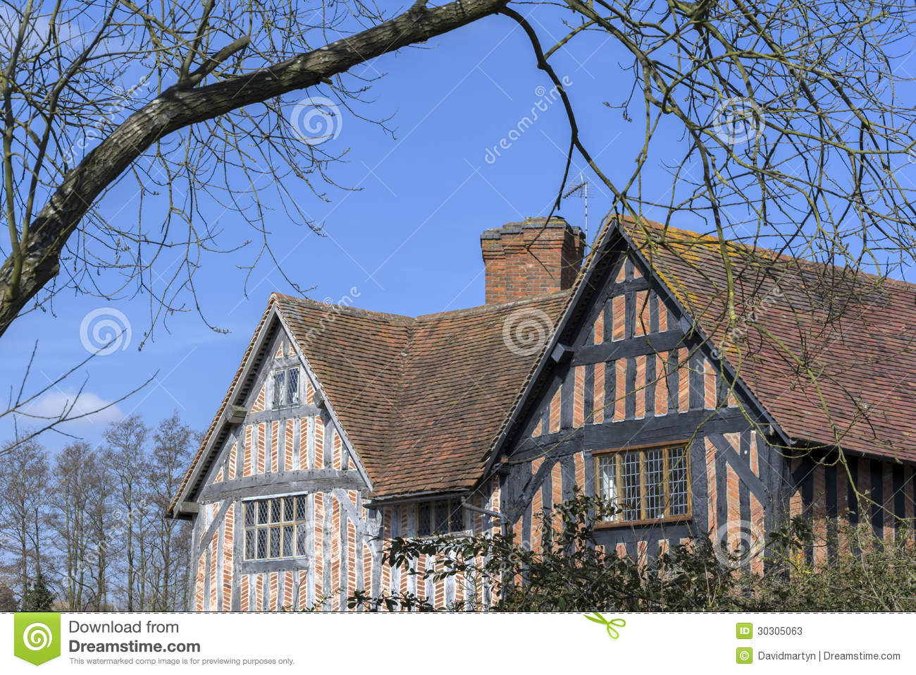Housing stock photos image 30305063 for Half timbered house plans
