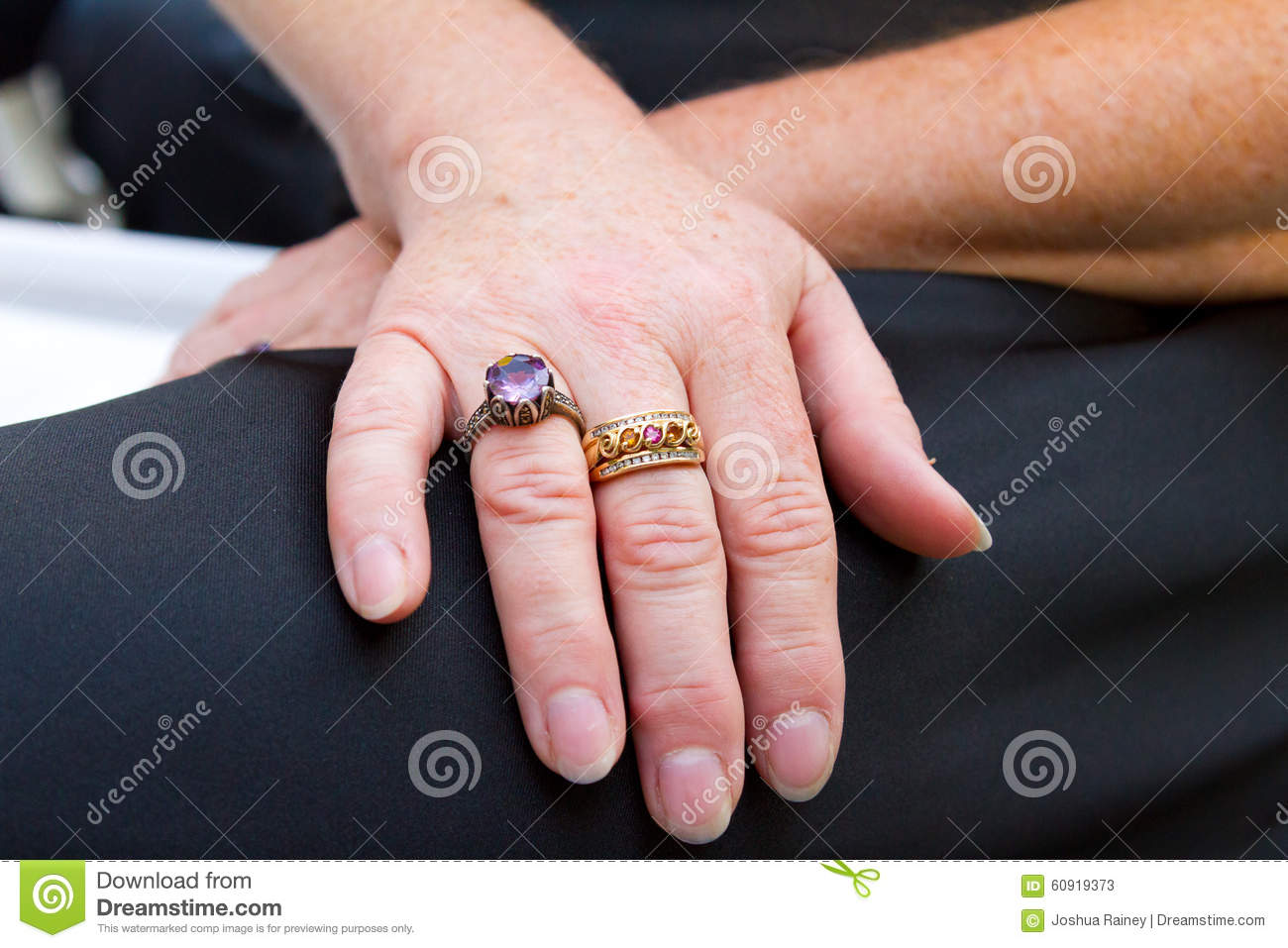 Old Hand and Wedding Ring stock image. Image of ring - 60919373