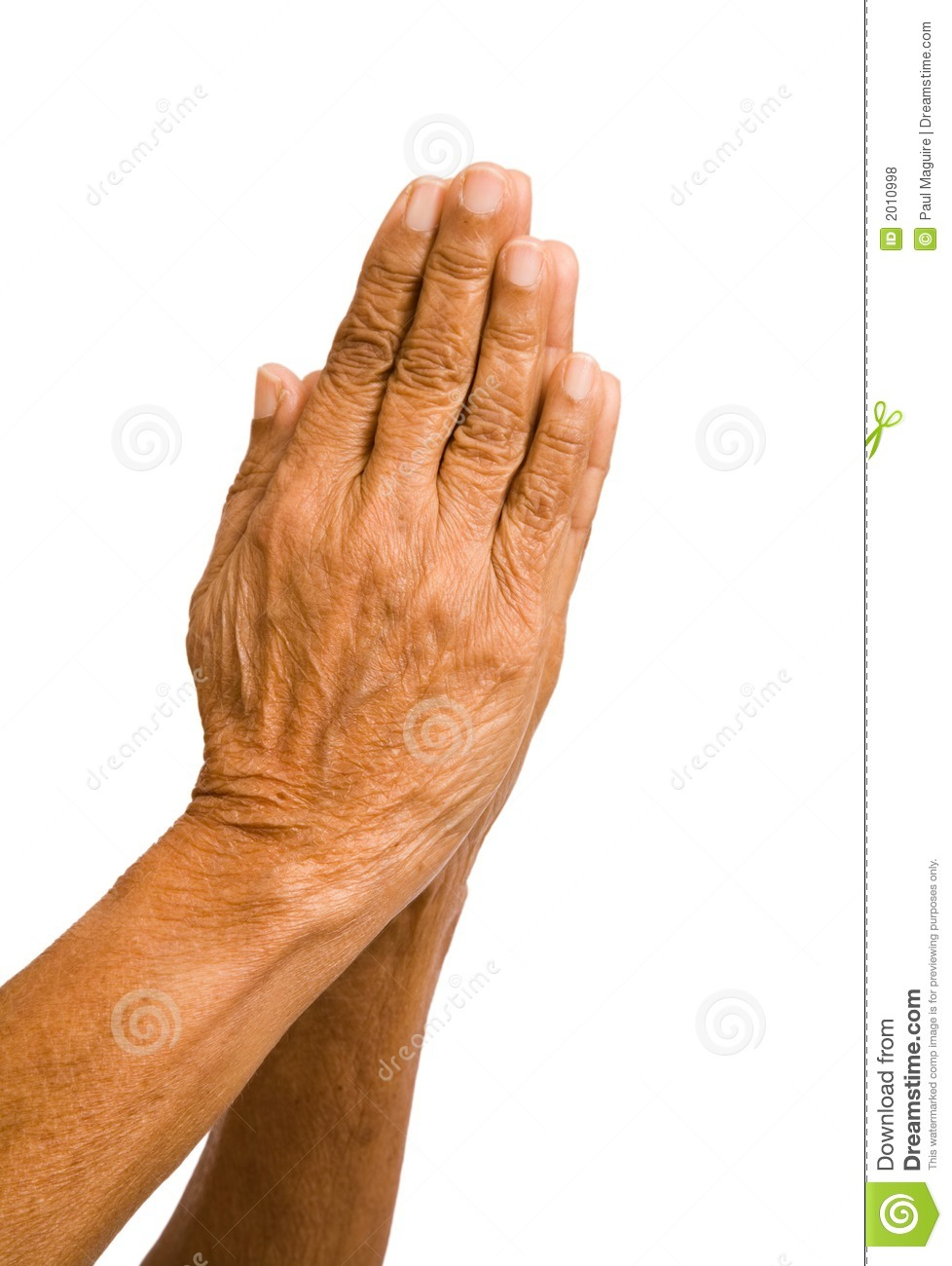 Old Hands Praying Royalty Free Stock Photos - Image: 2010998