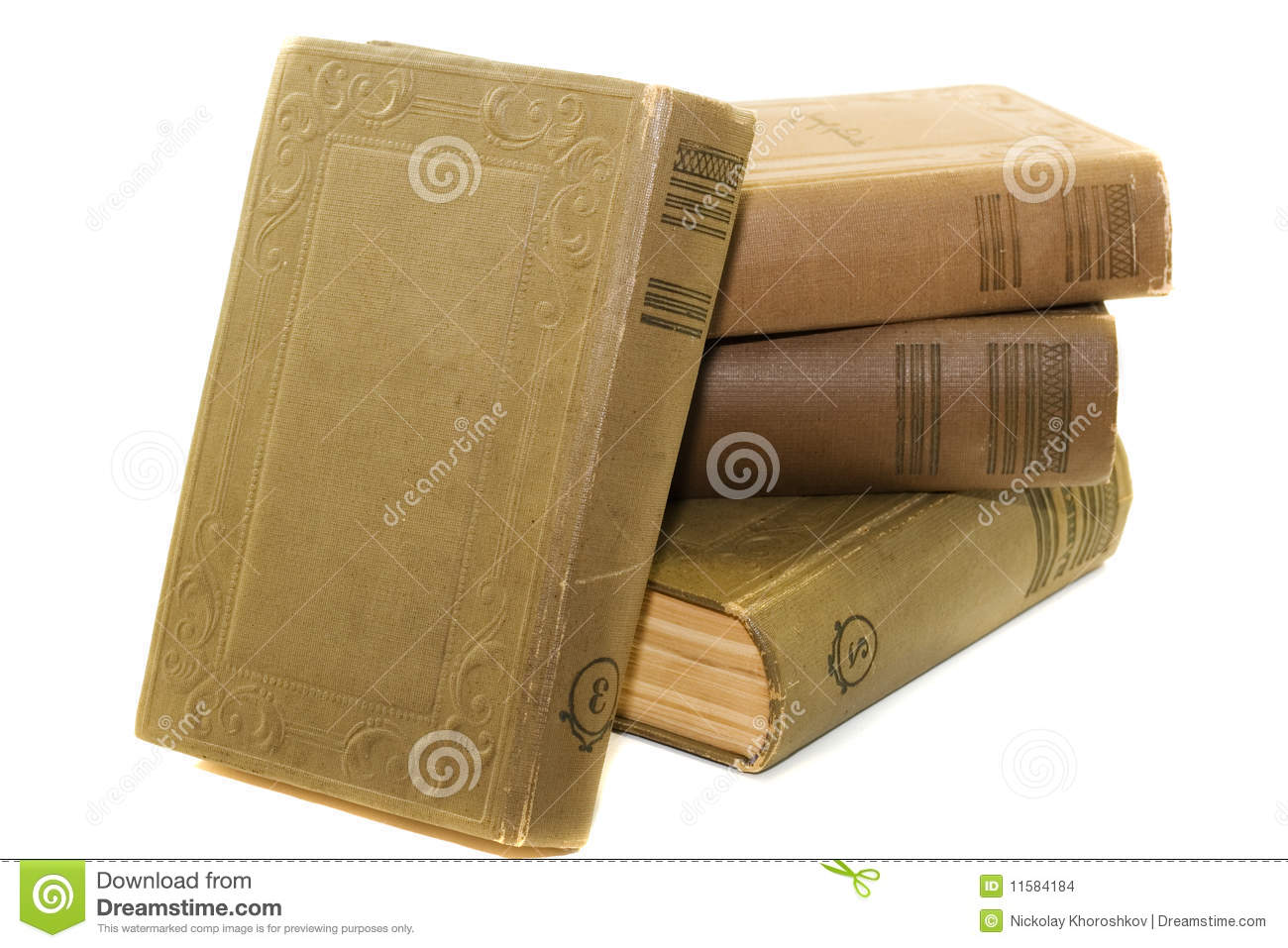 Vintage Hardcover Book : Old hardcover books stock images image