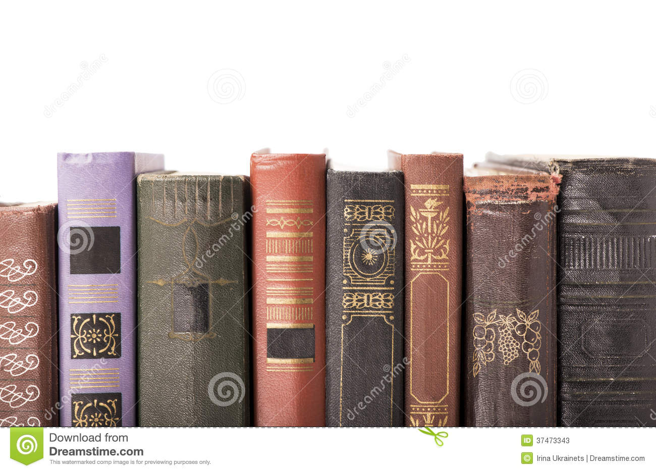 Vintage Hardcover Book : Old hardcover books stock photos image