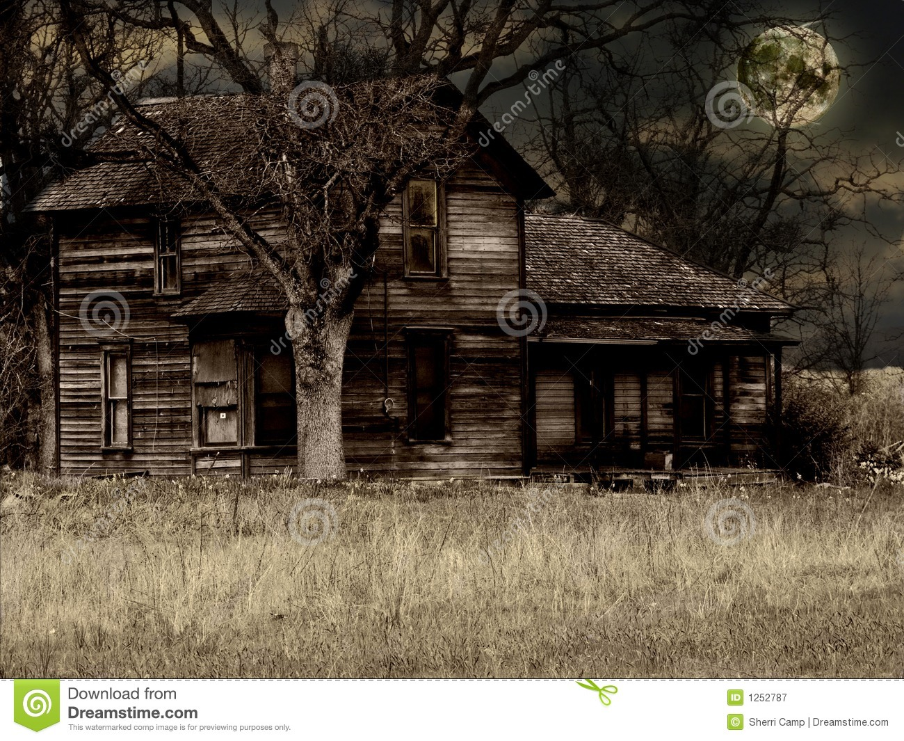 Old Haunted Houses