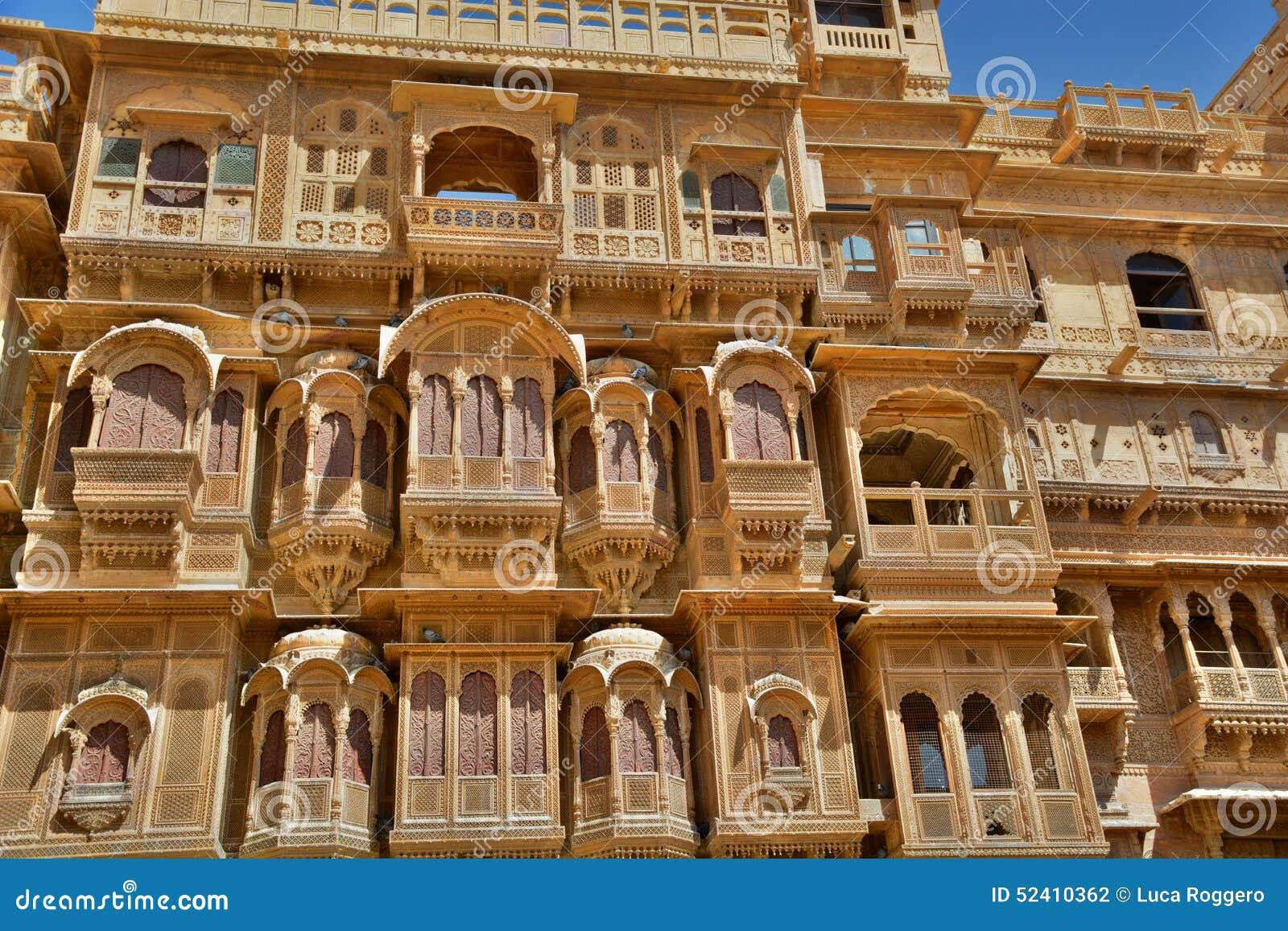 Old Haveli In Jaisalme...