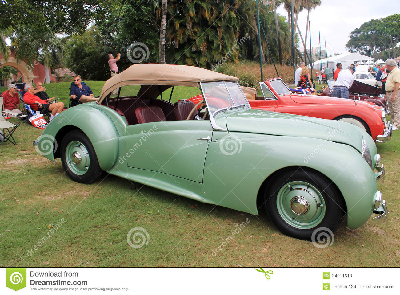 Old healy convertible editorial stock photo. Image of fender ...