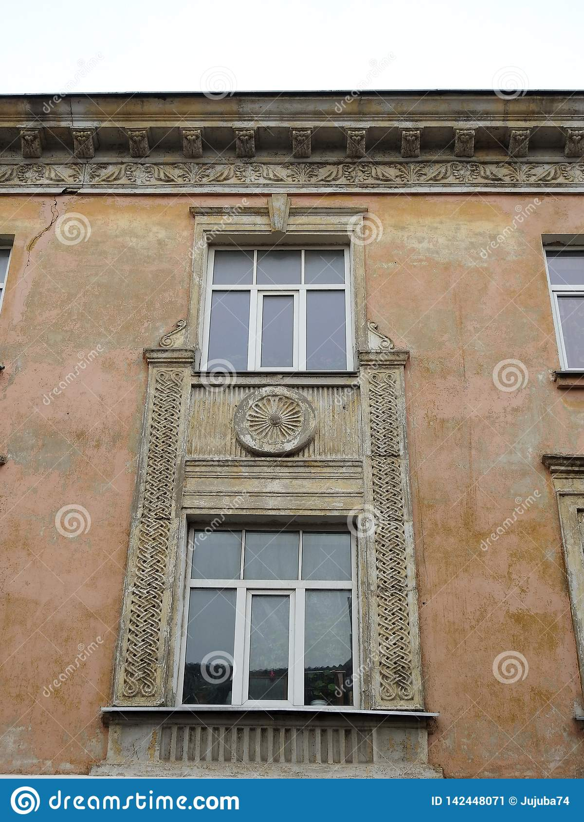 Old home  window, Latvia