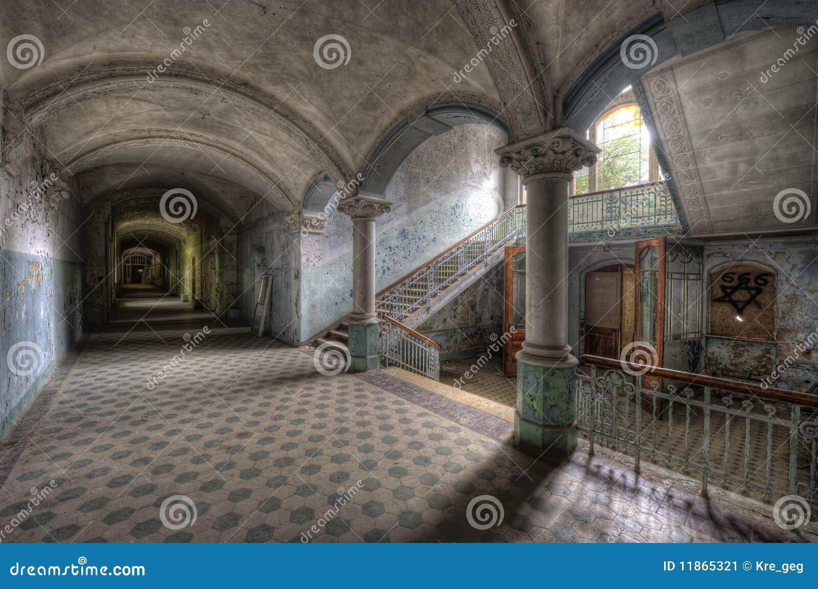 Old hospital in Beelitz