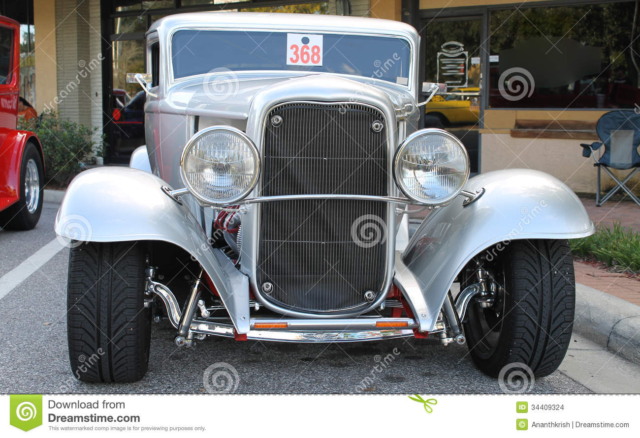 Old Hot Rod Car stock photo. Image of industries, travel - 34409324